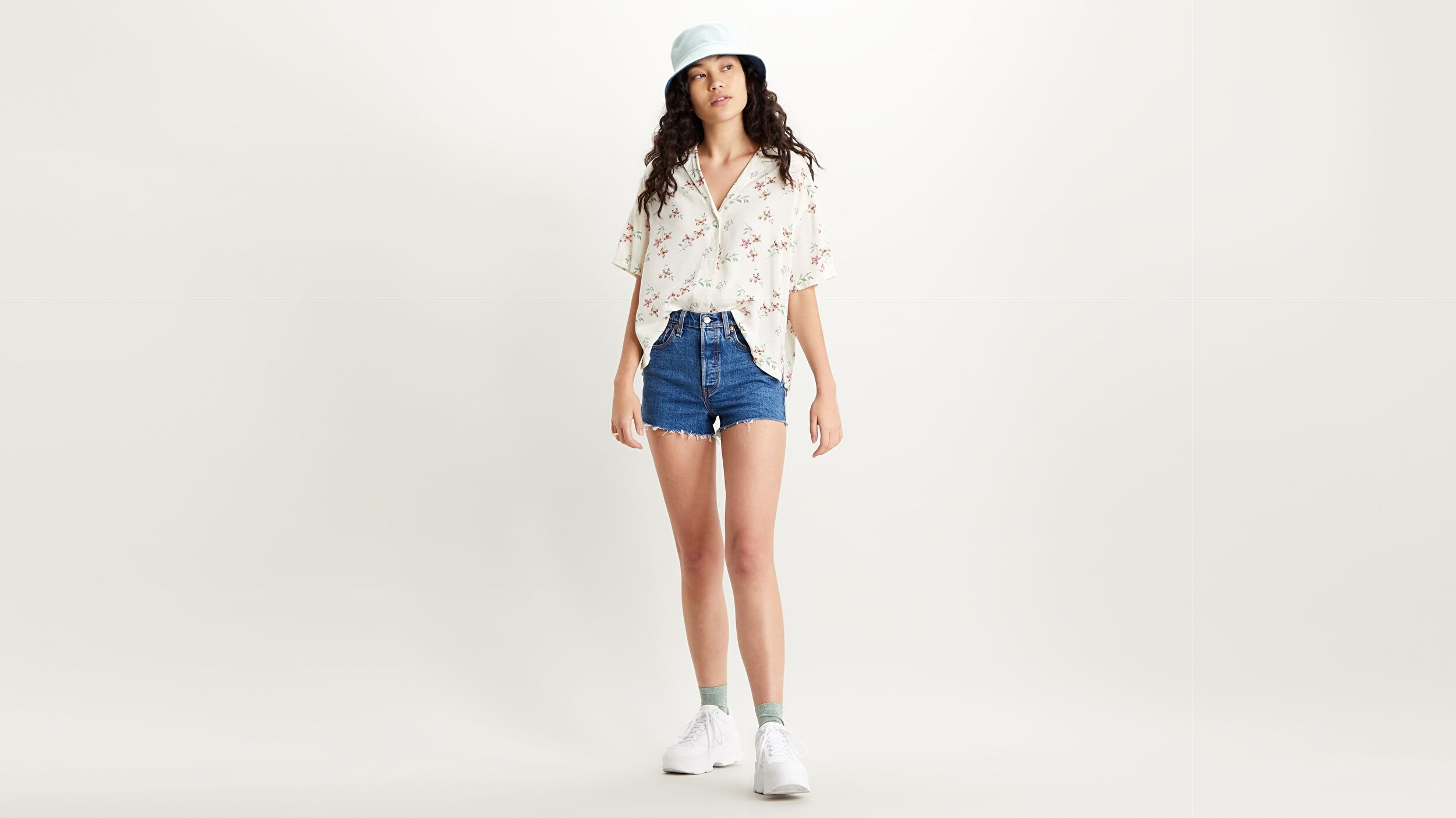 Rowan Shirt Verdite Tofu Beyaz Kadın Gömlek