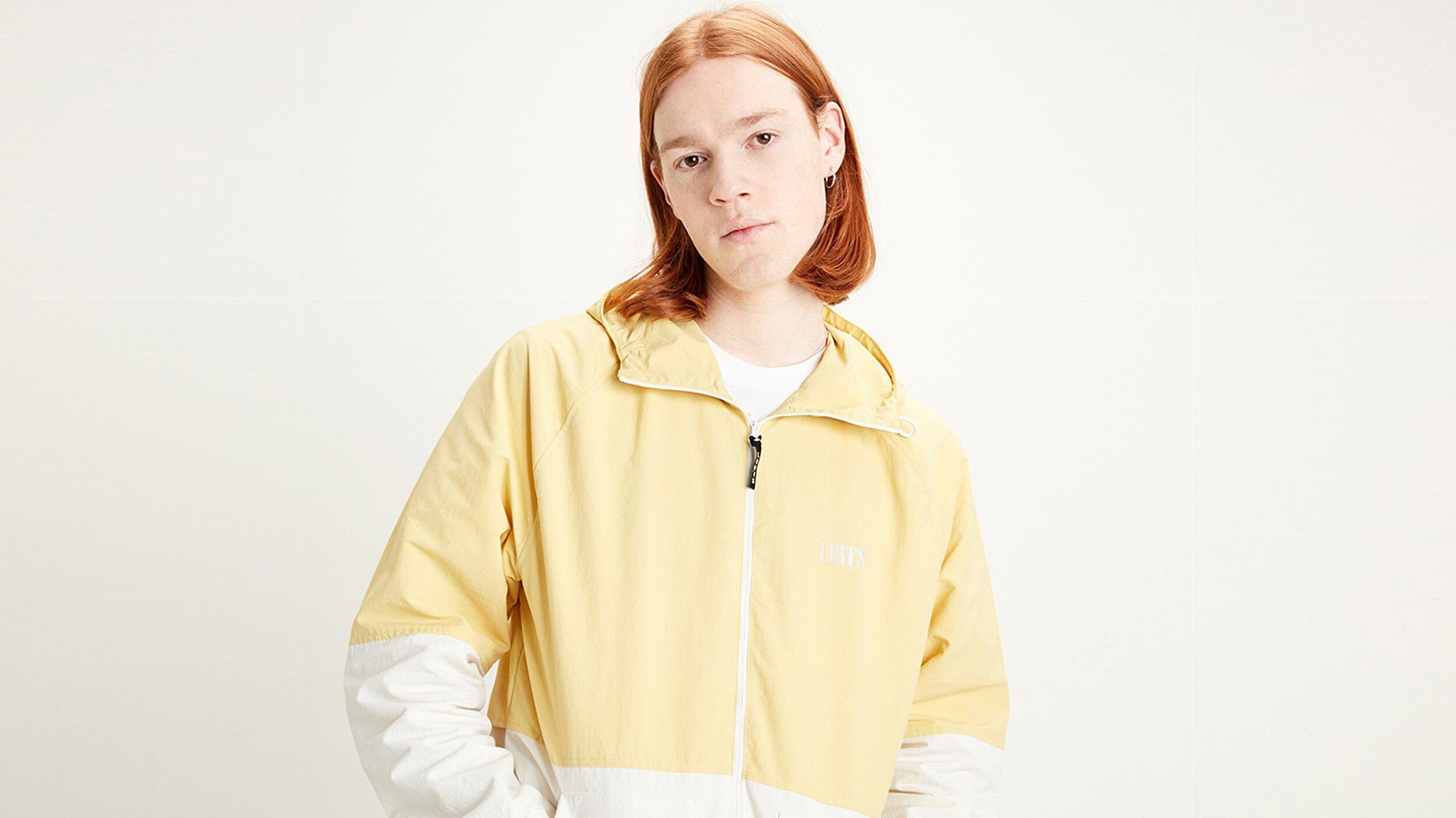 Marina Windbreaker Dusky Citron Sarı Erkek Ceket