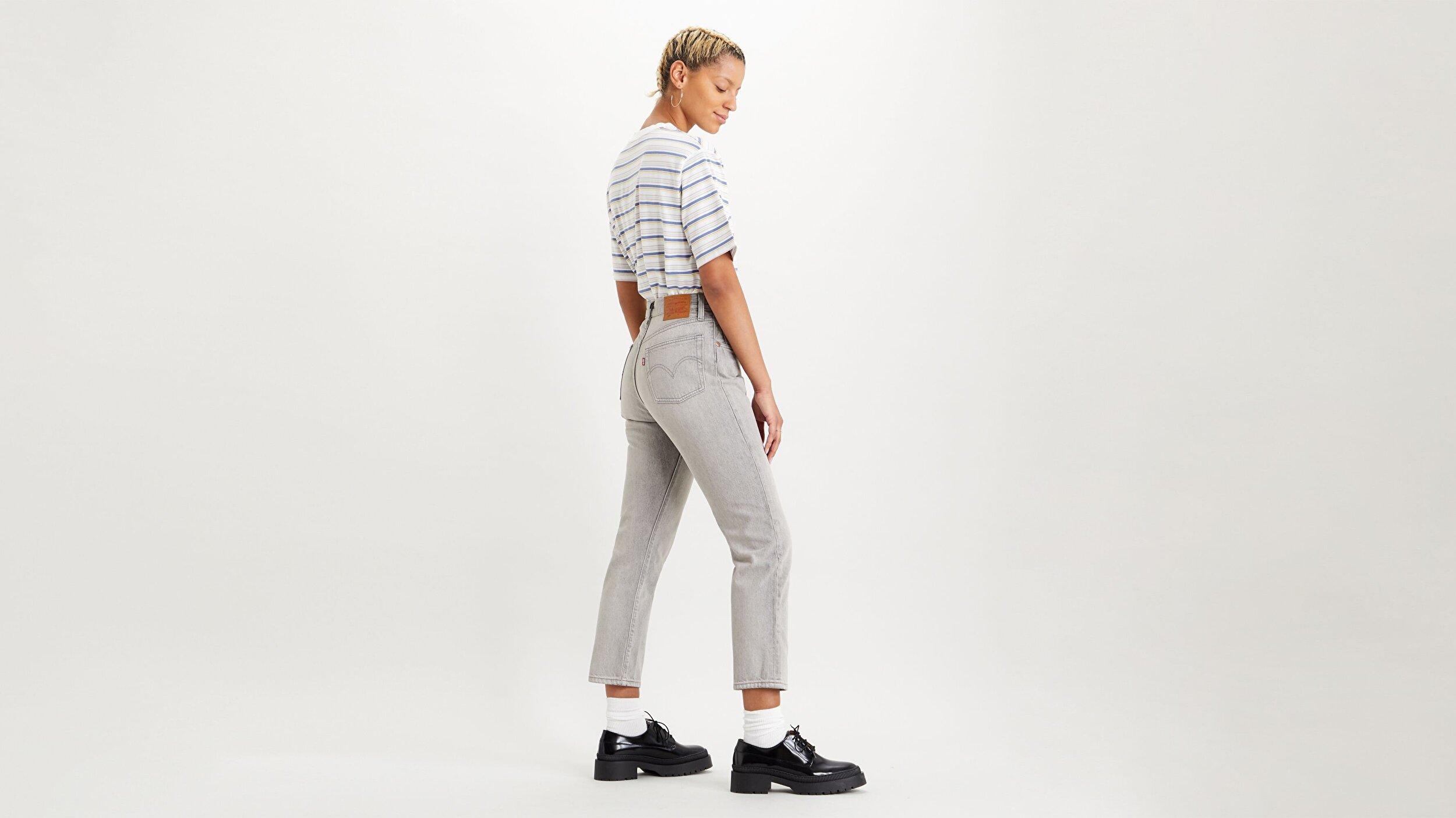 501® Kadın Crop Jean Pantolon-Opposites Attract