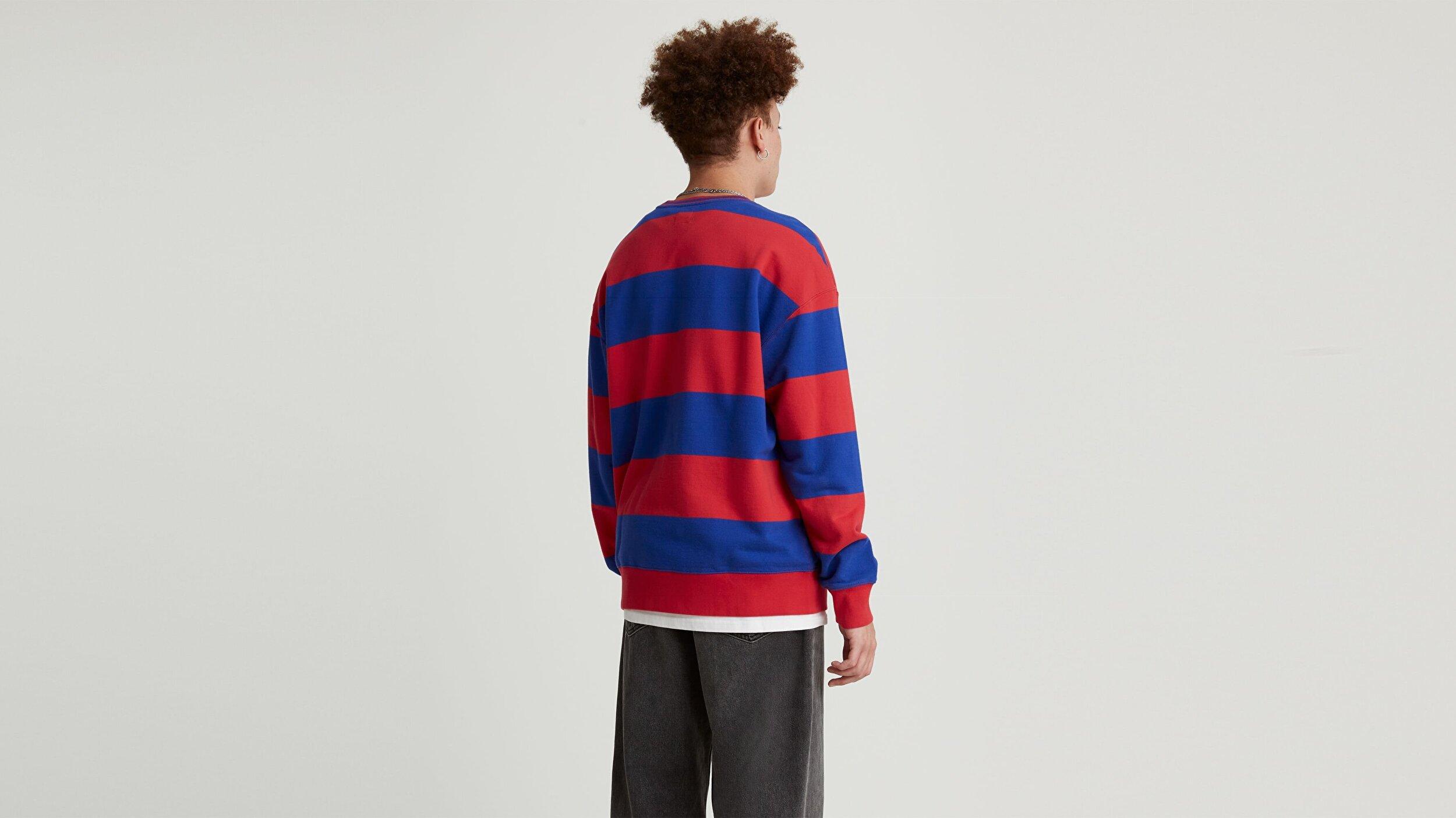 Rlxd Crew Sweatshirt Outline Snoopy Çok renkli Erkek Sweatshirt