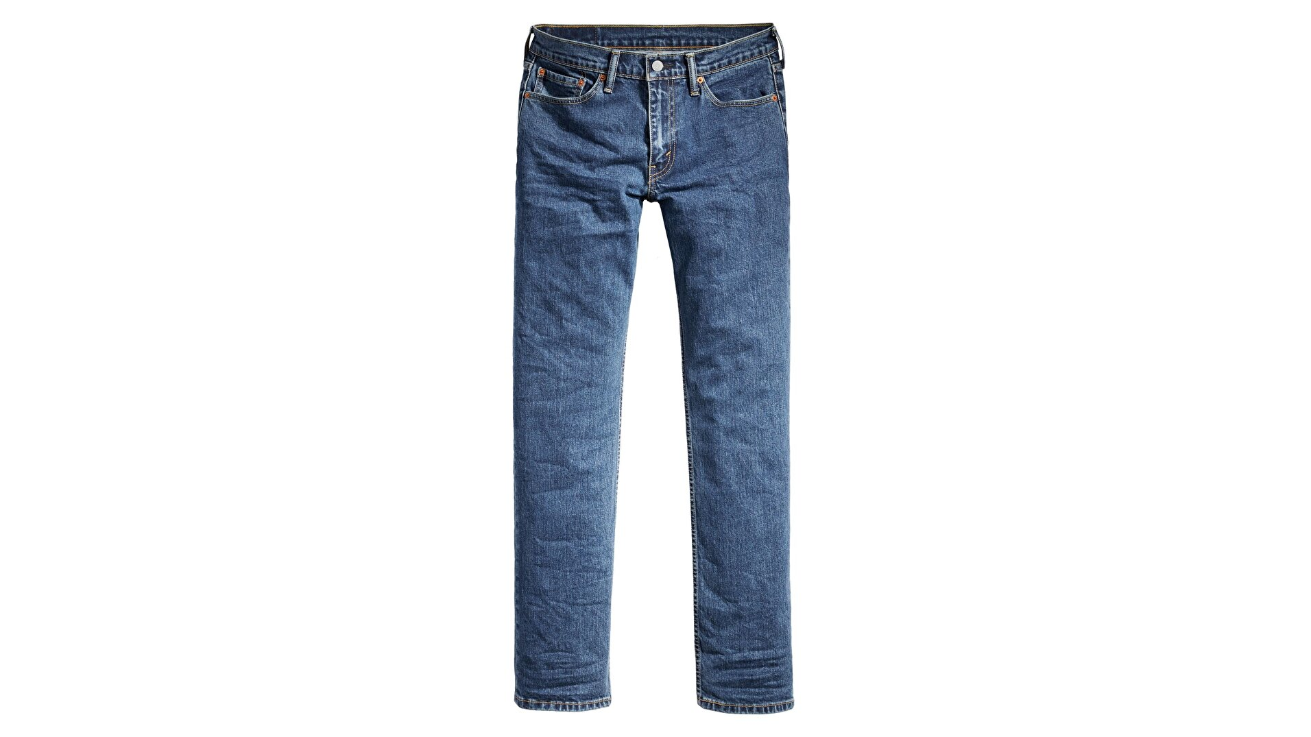 514™ Straight Fit Erkek Jean Pantolon-Stonewash Stretch T2