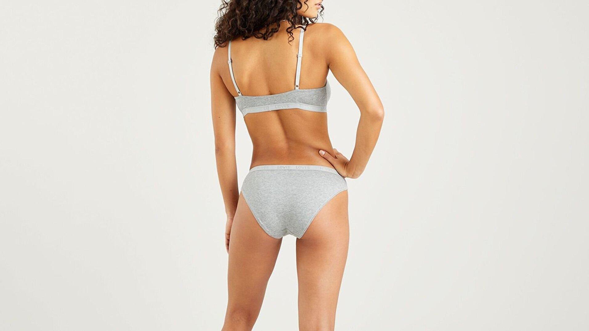 Bodywear Normal Bel Kadın Külot-Smokestack Heather