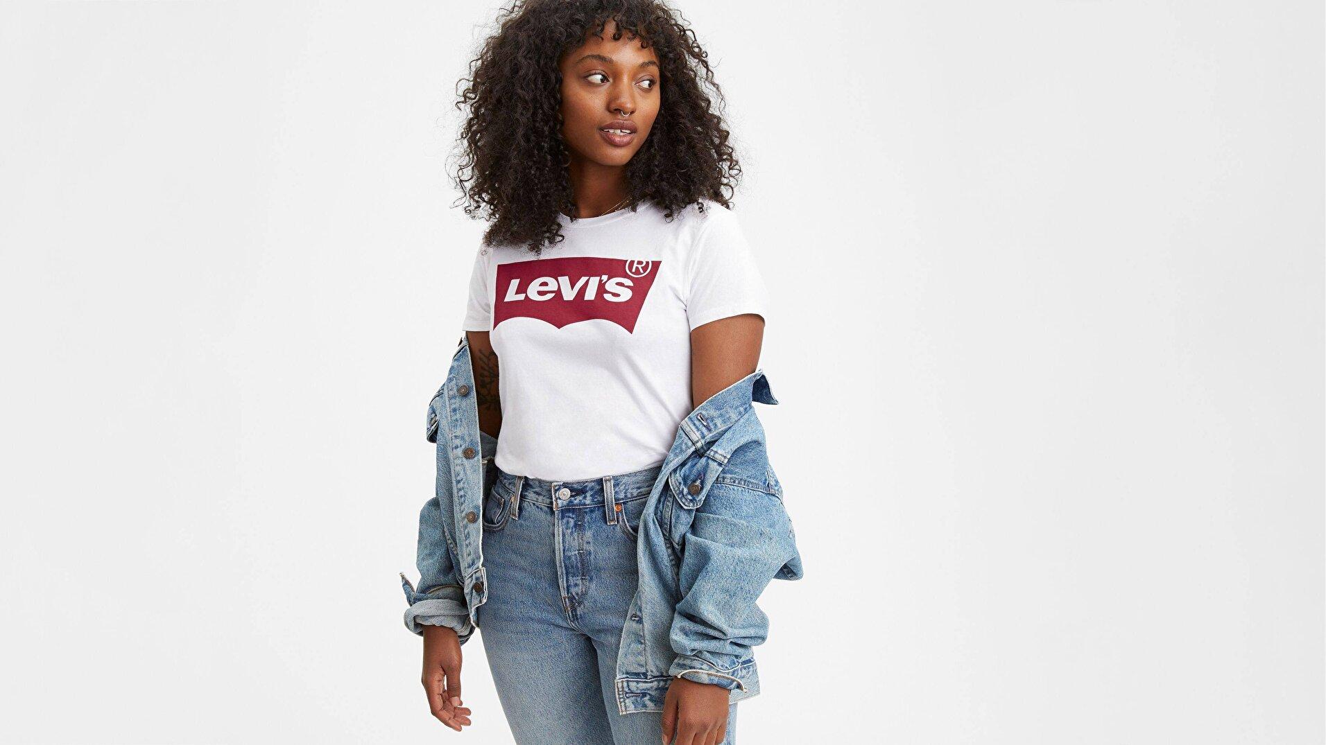 The Perfect Tee Tr Large Beyaz Kadın Tişört