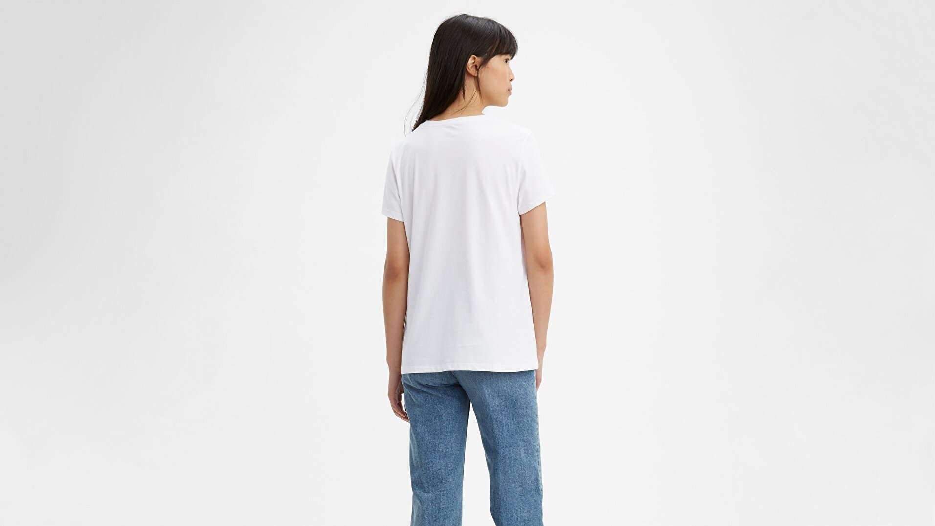 The Perfect Tee Tr Sportswear Beyaz Kadın Tişört
