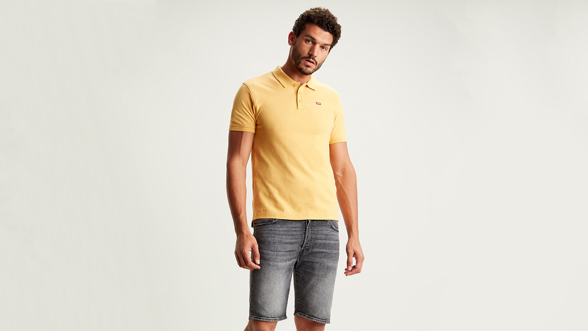 Levi'S® Housemark Polo Hm Patch sarı Erkek Tişört