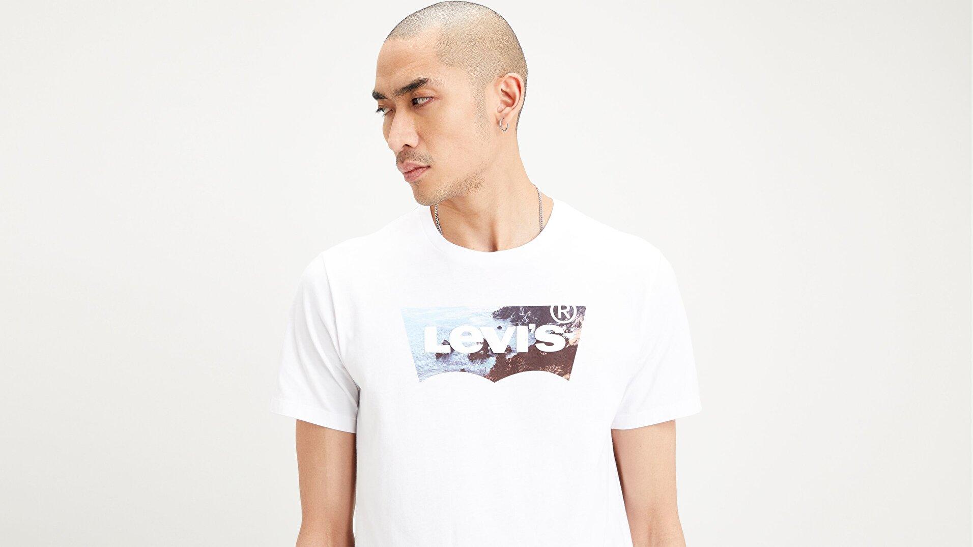 Housemark Graphic Tee Ssnl Hm2 Beyaz Erkek Tişört