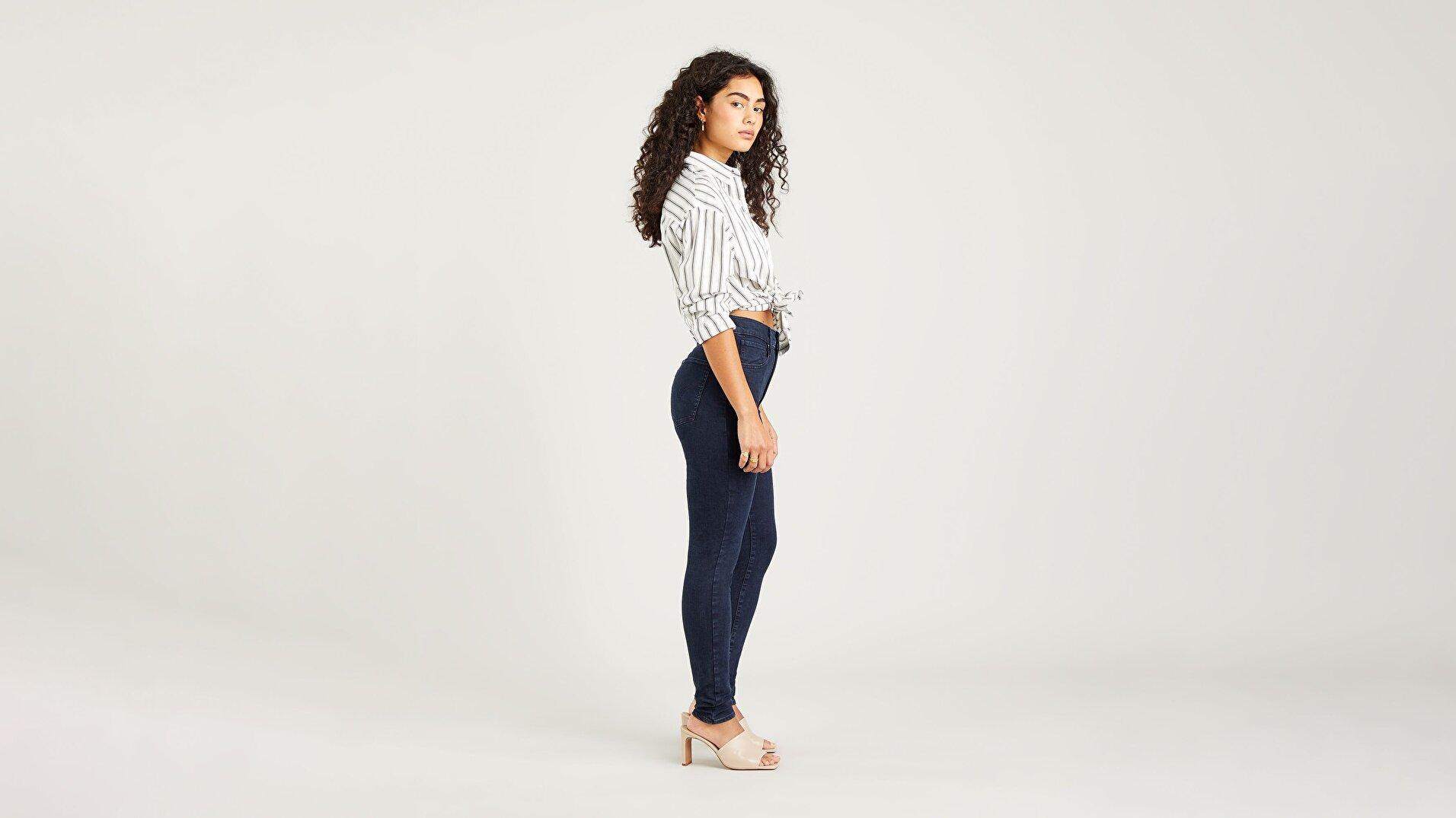 Mile High Super Skinny Kadın Jean Pantolon-Bruised Heart