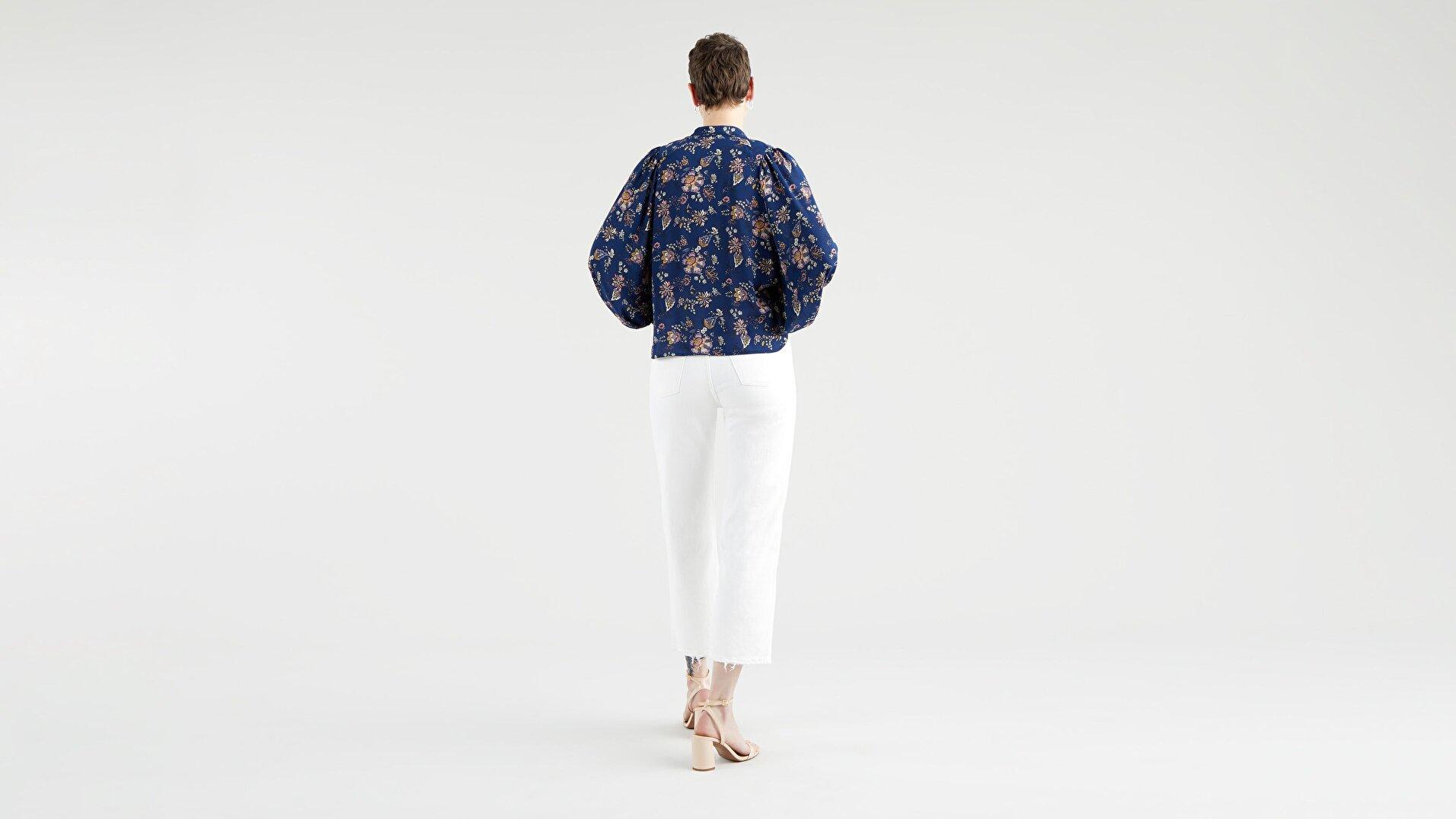 Hadley Ls Blouse Paisley Jacobian Navy Çok Renkli Kadın Gömlek