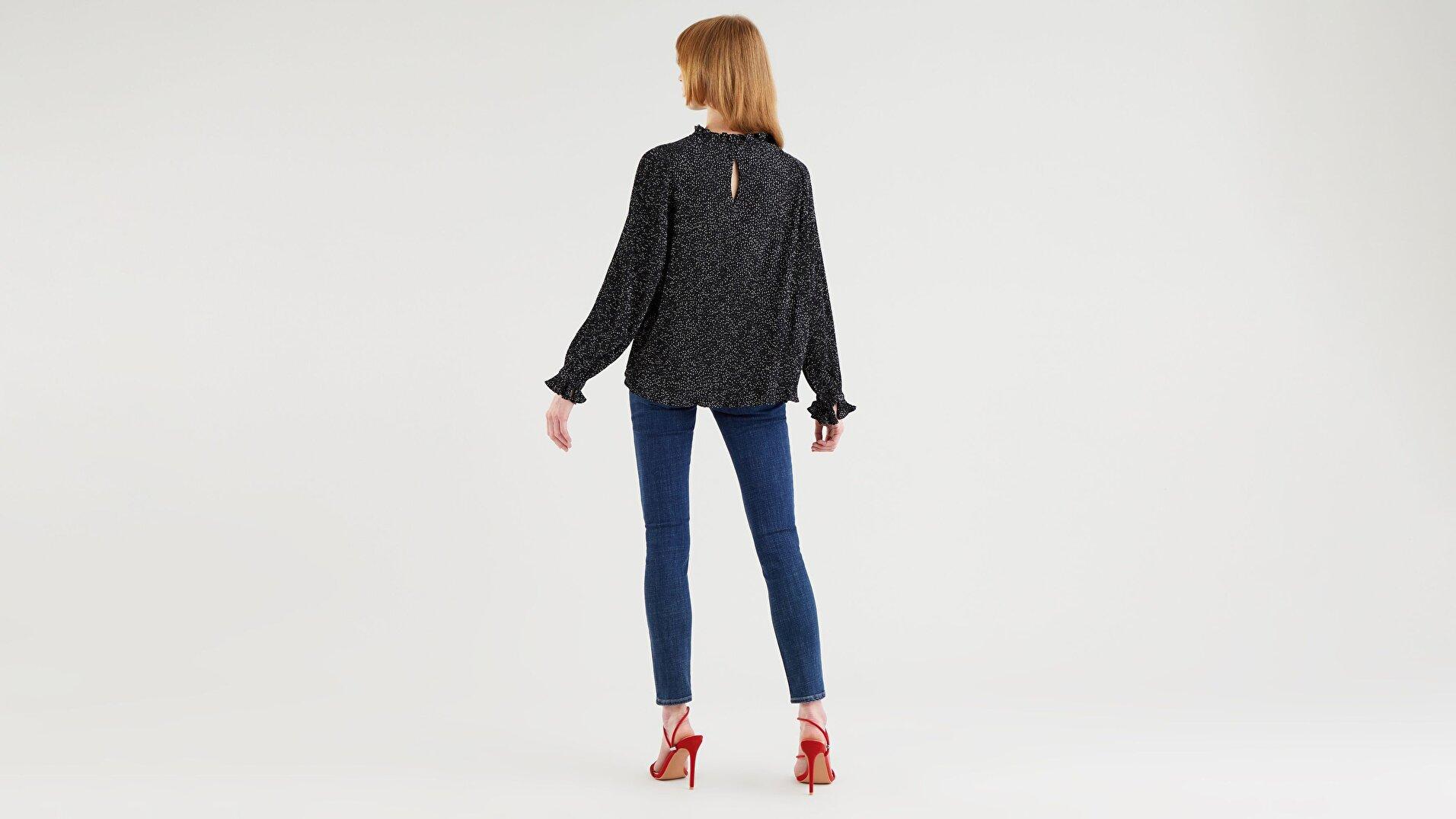 Lilith Kadın Çok Renkli Bluz