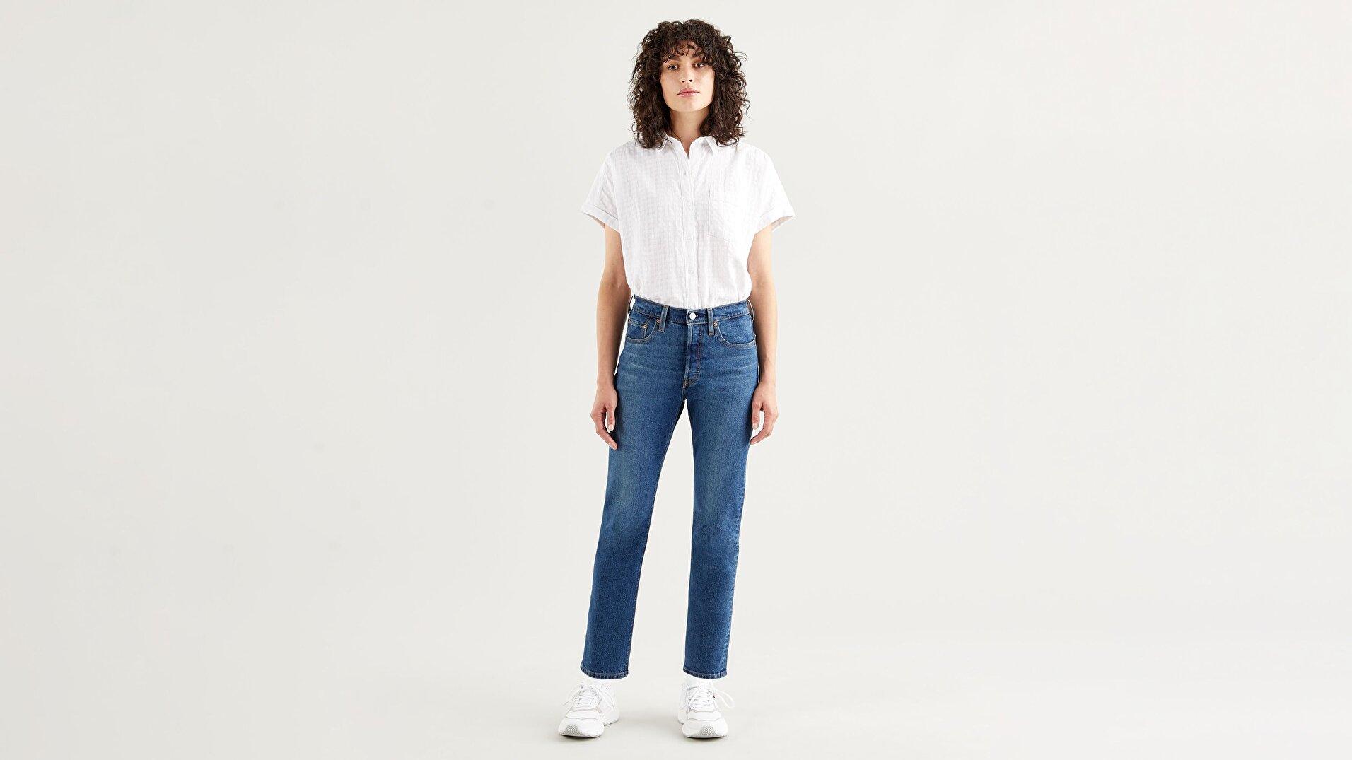 501® Kadın Crop Jean Pantolon-Charleston Outlasted