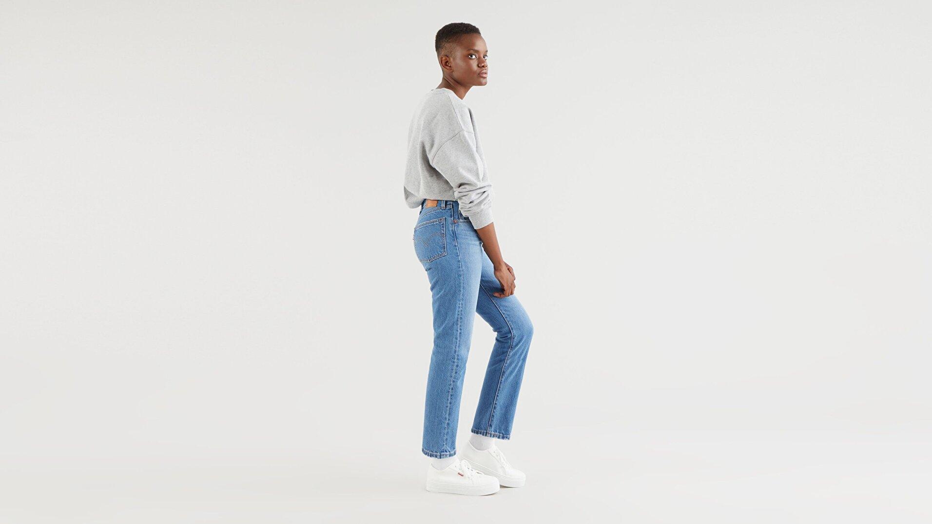 501® Kadın Crop Jean Pantolon-Athens Day To Day