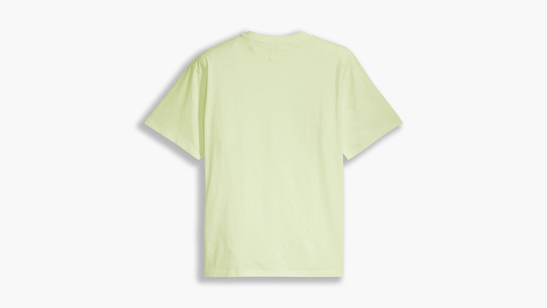 Levi's Vintage Shadow Lime Garment Yeşil Erkek Tişört
