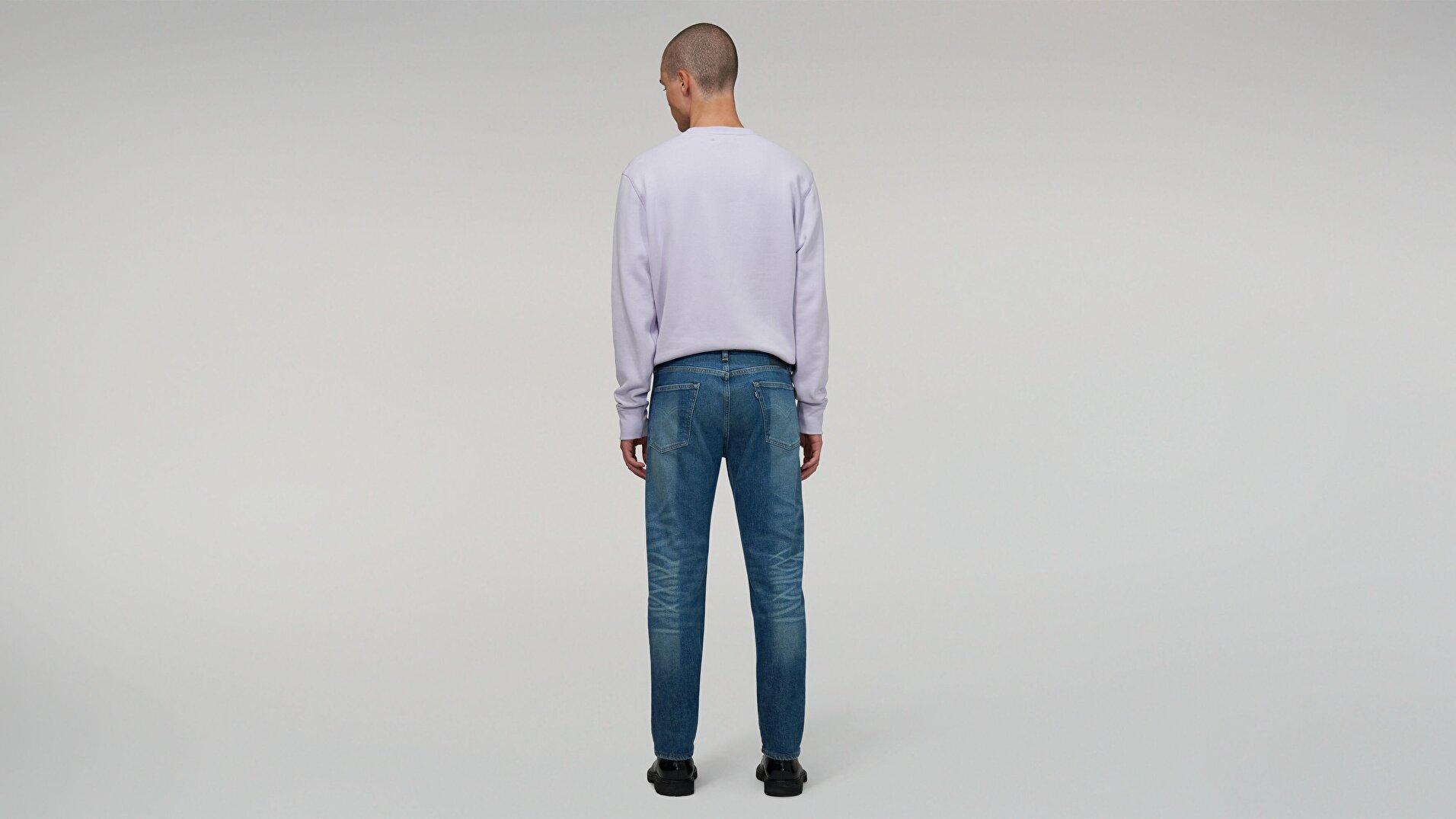 Made & Crafted® 502 Taper Fit Erkek Jean Pantolon-Lmc Half Dome