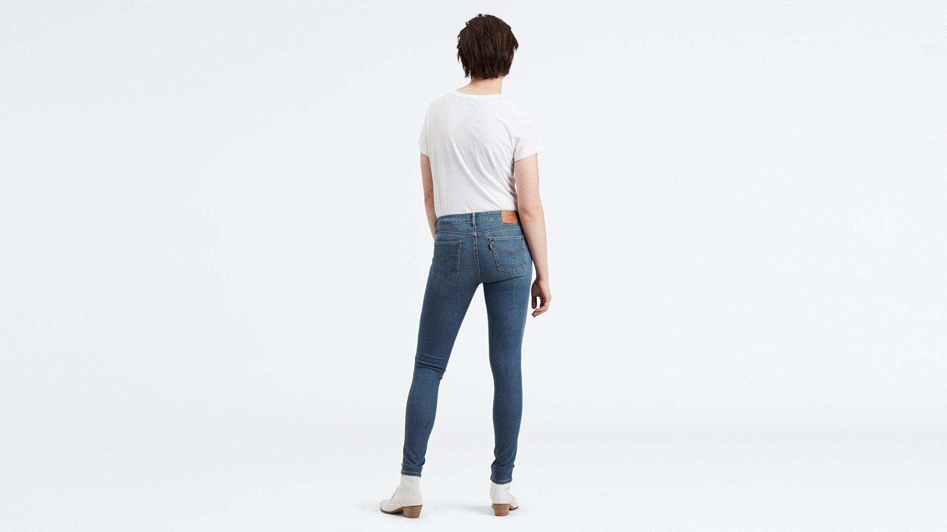 711 Skinny Fit Kadın Jean Pantolon-Believe It Or Not