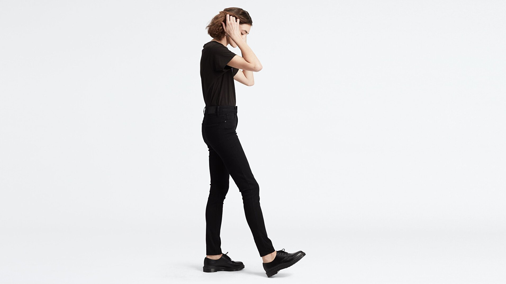 721 Yüksel Bel Skinny Fit Kadın Jean Pantolon-Long Shot