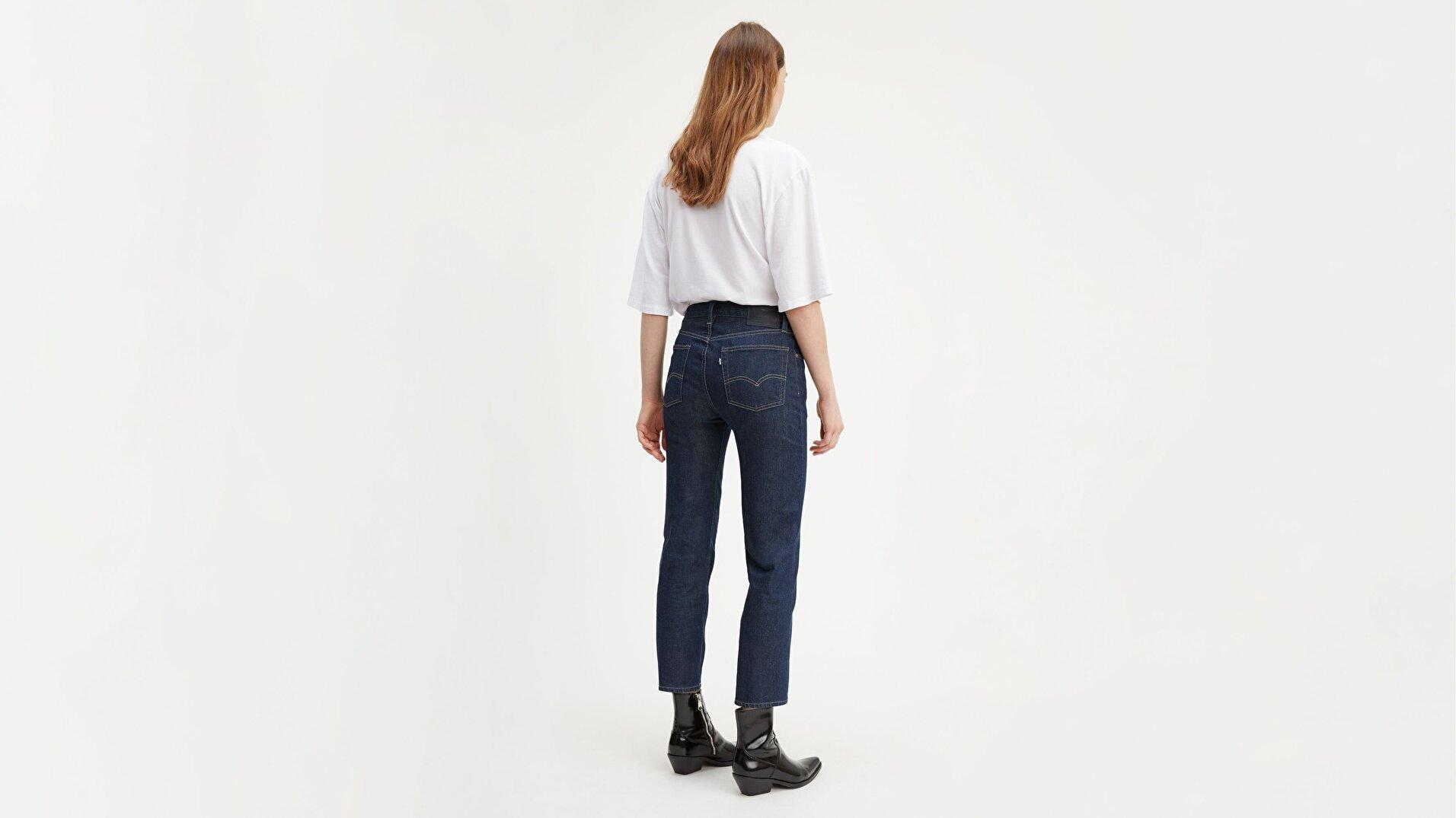 501® Kadın Crop Jean Pantolon-Lmc Raw
