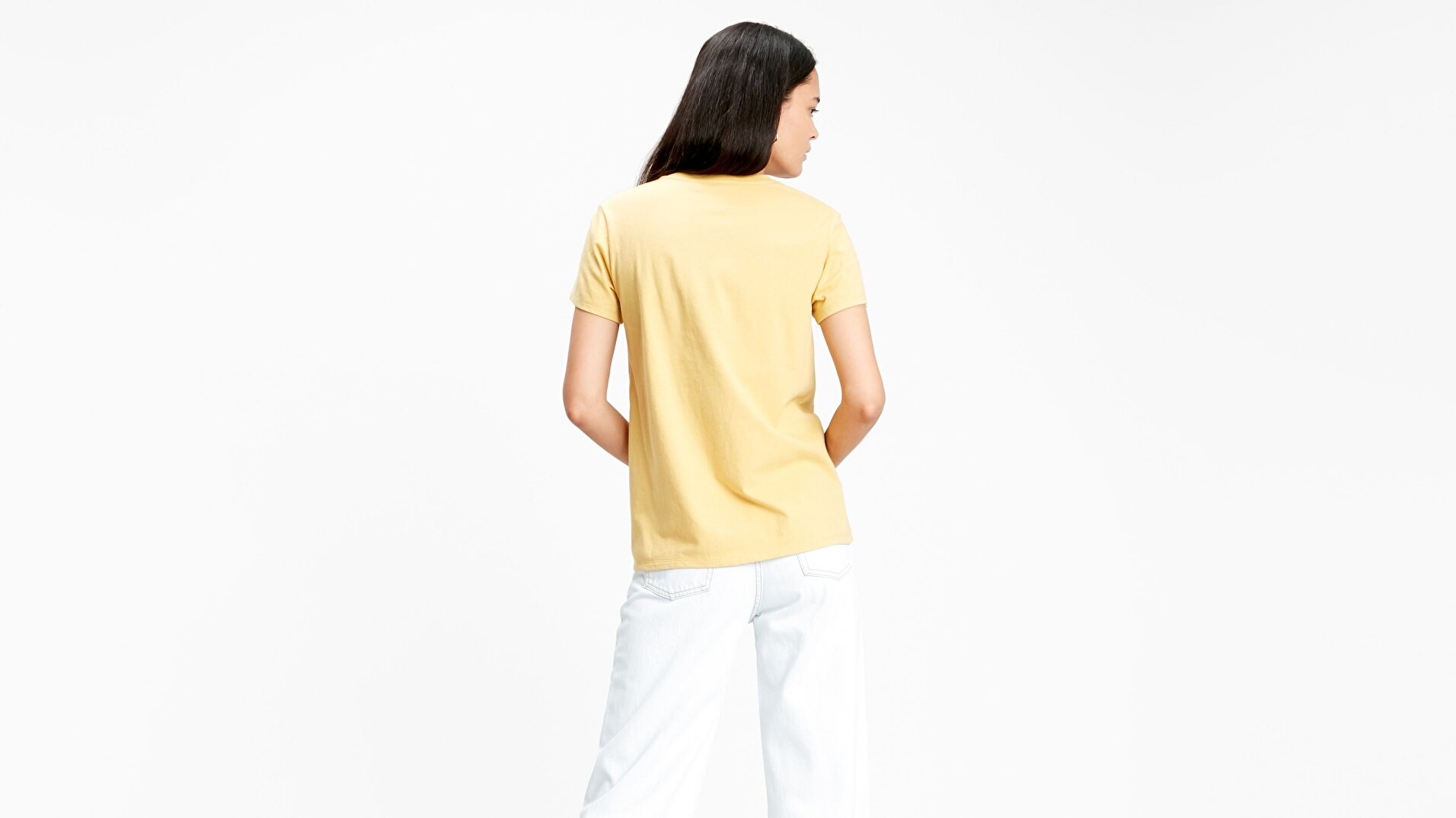 The Perfect Tee Bw T2 Sarı Kadın Tişört