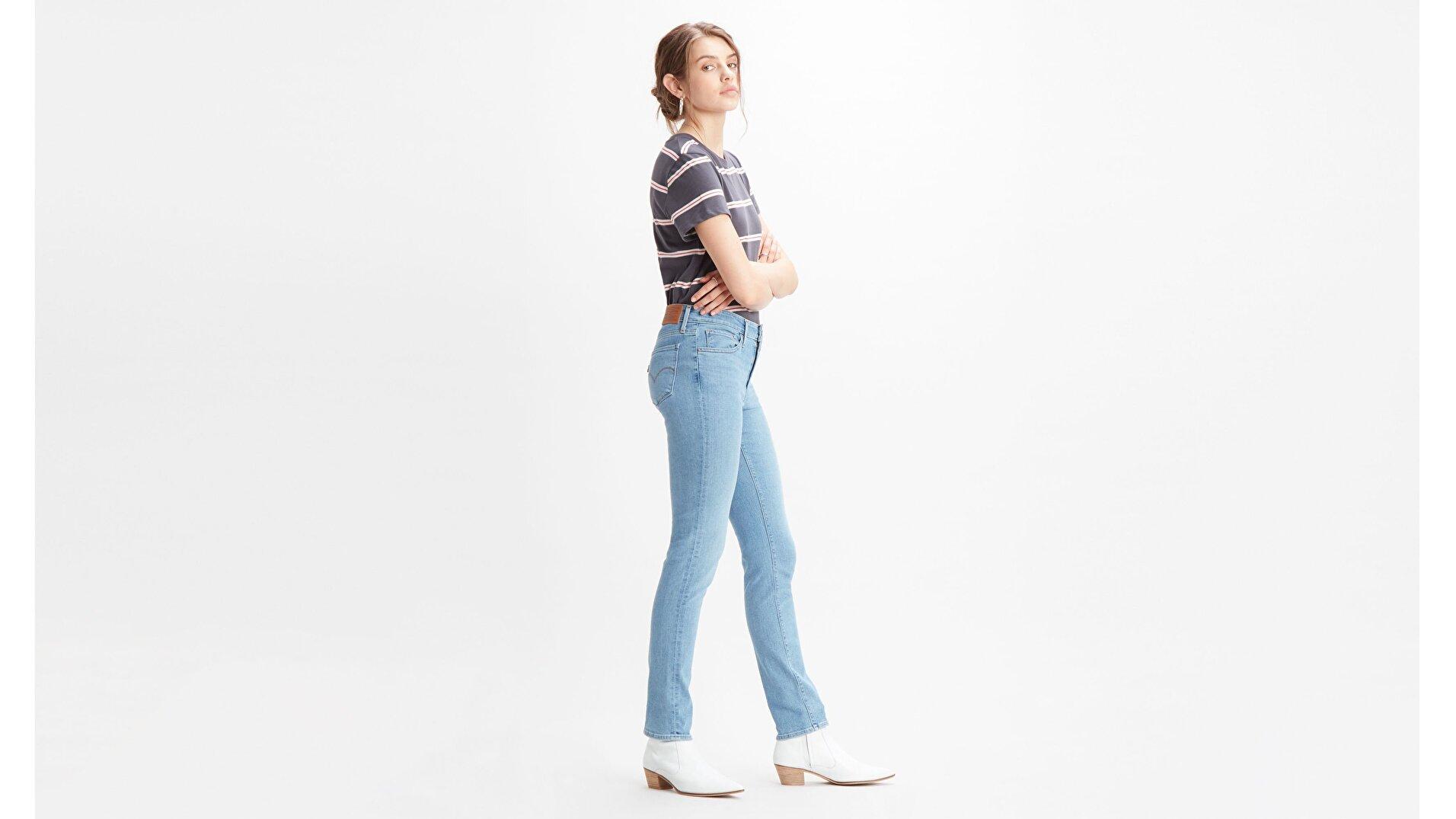 712 Slim Fit Kadın Jean Pantolon - San Francisco Fog