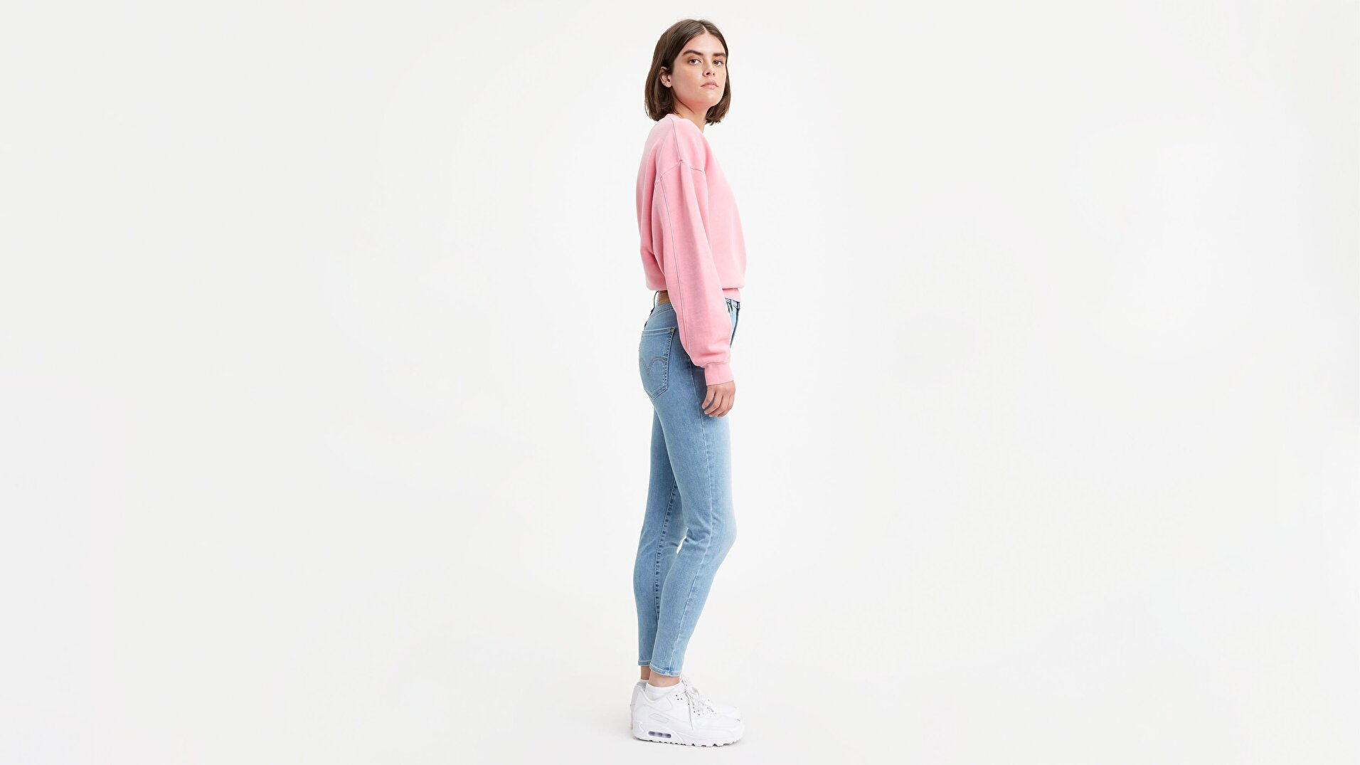 Mile High Super Skinny Kadın Jean Pantolon-Between Space And Time