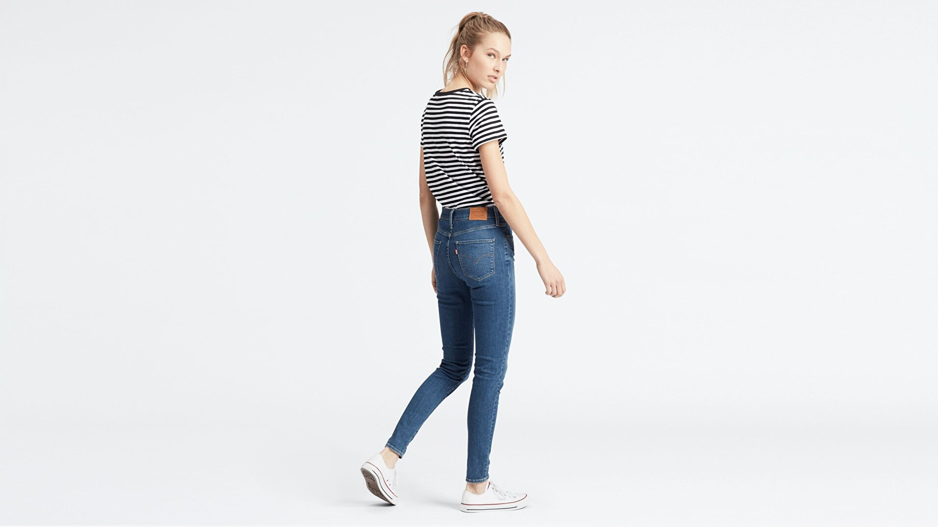 720 Yüksek Bel Süper Skinny Kadın Jean Pantolon-Love Ride T2