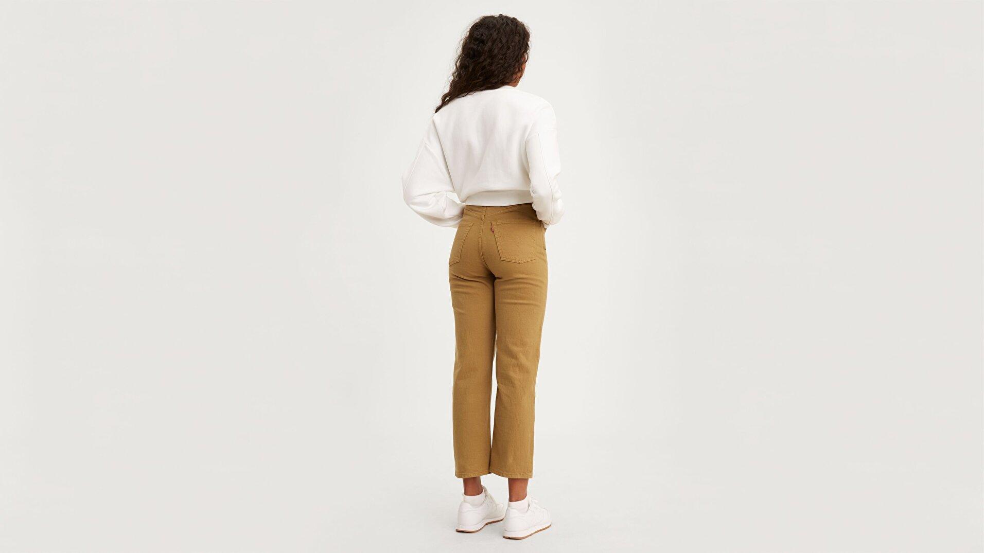 Ribcage Straight Ankle Kadın Jean Pantolon-One Track Mind