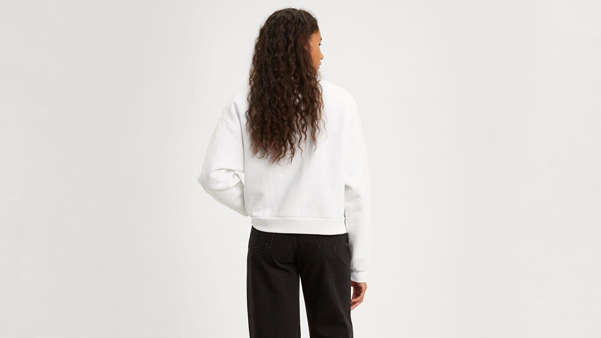 Graphic Diana Crew Crew T2 Beyaz Kadın Tişört