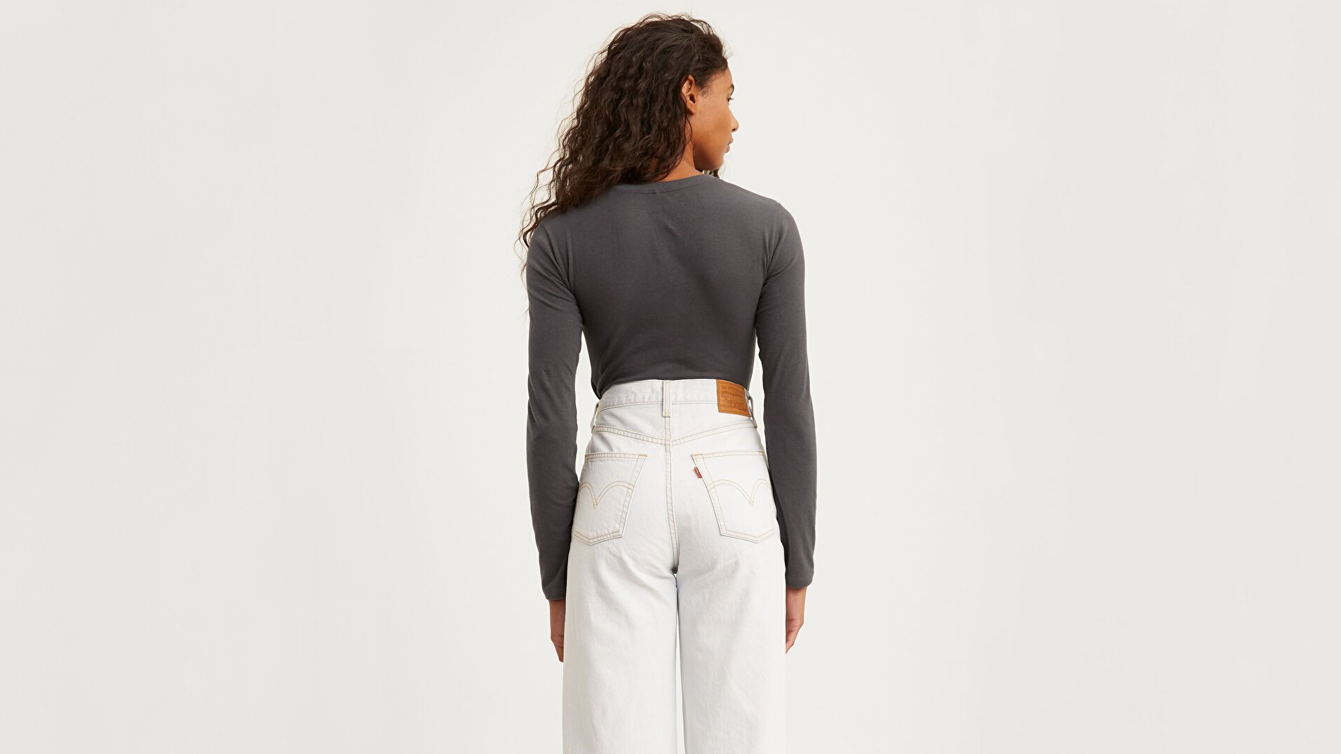 Graphic Ls Bodysuit 90'S Serif Siyah Kadın Bodysuit