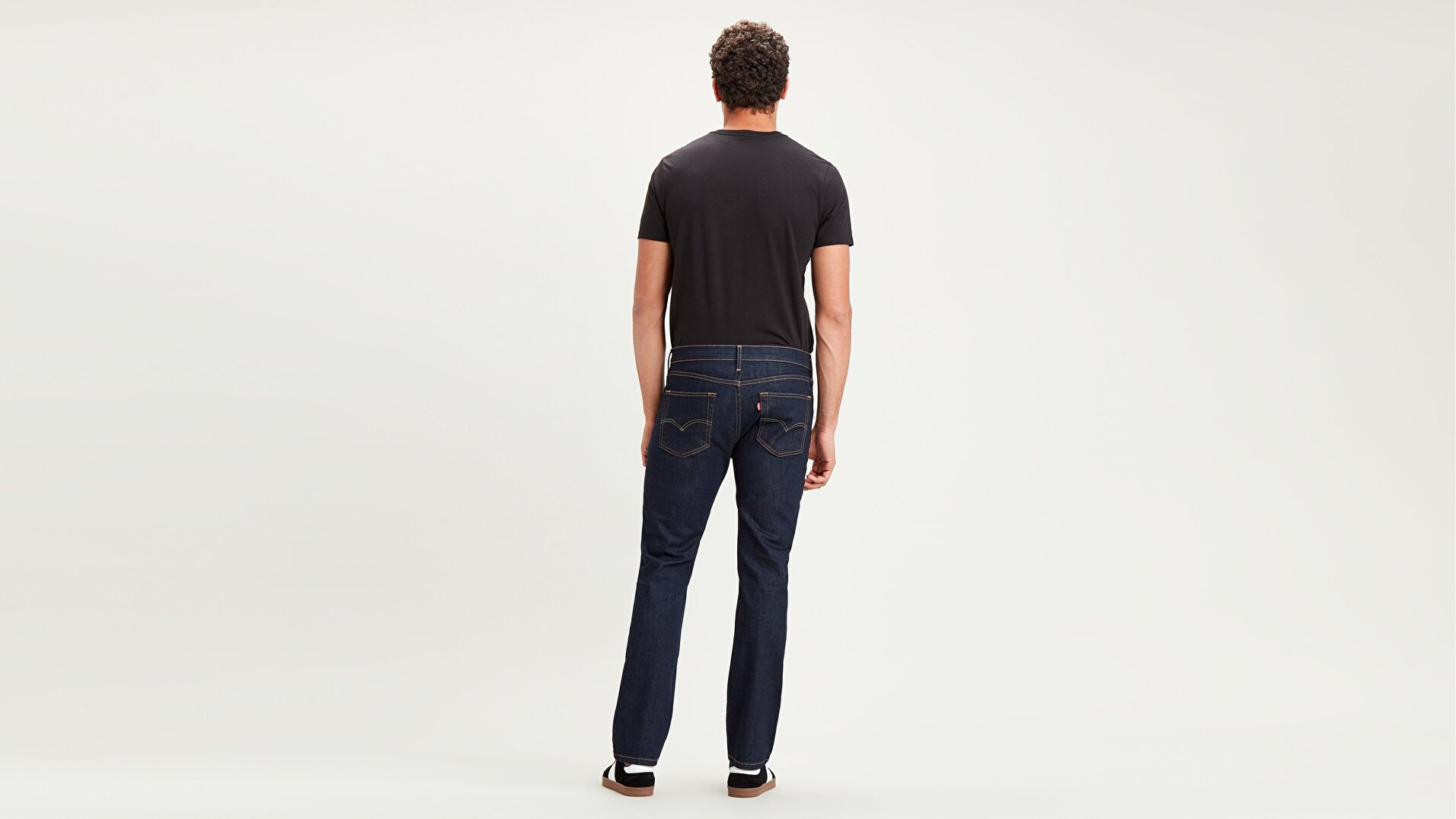 514™ Straight Fit Erkek Jean Pantolon-Dark Hollow Local