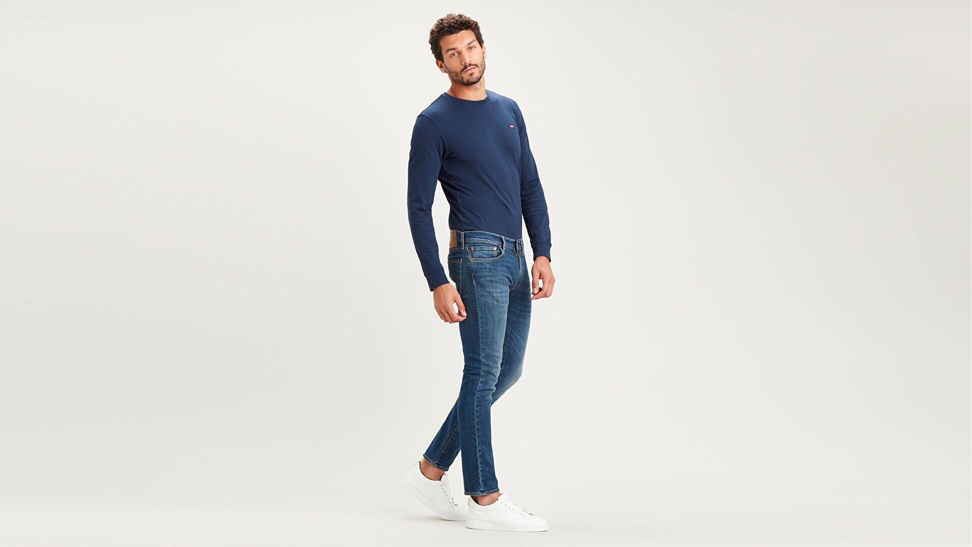 511™ Slim Fit Erkek Jean Pantolon-Caspian Adapt (Local)