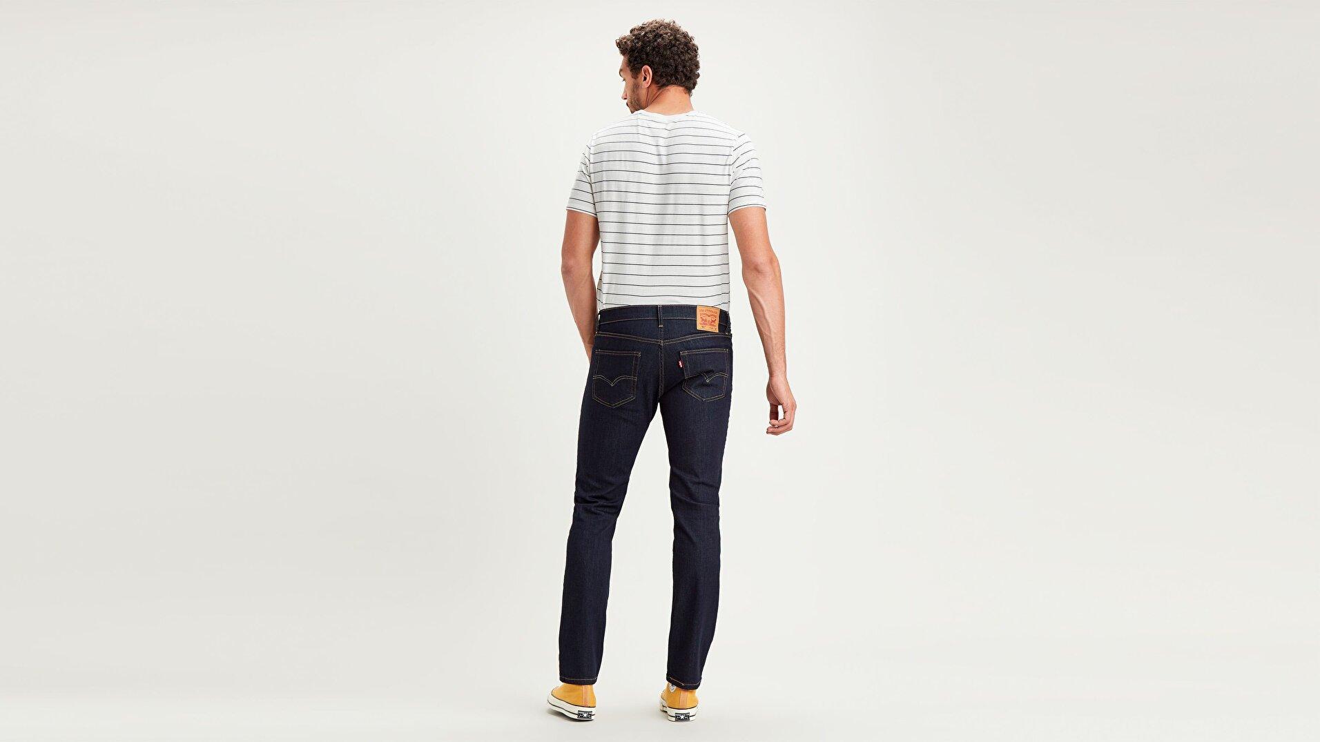 511™ Slim Fit Erkek Jean Pantolon-Dark Hollow Local