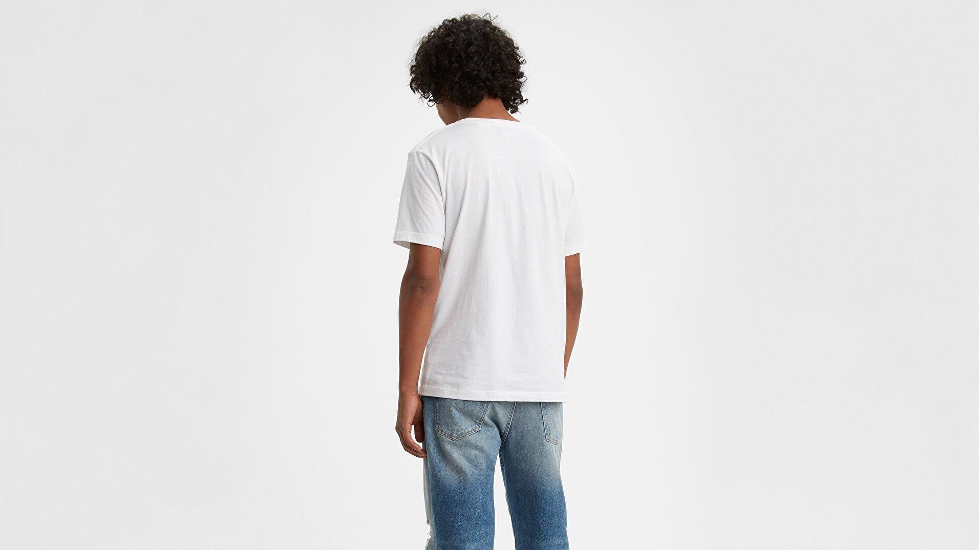 Lmc Pocket Tee Lmc Bright Beyaz Erkek Tişört