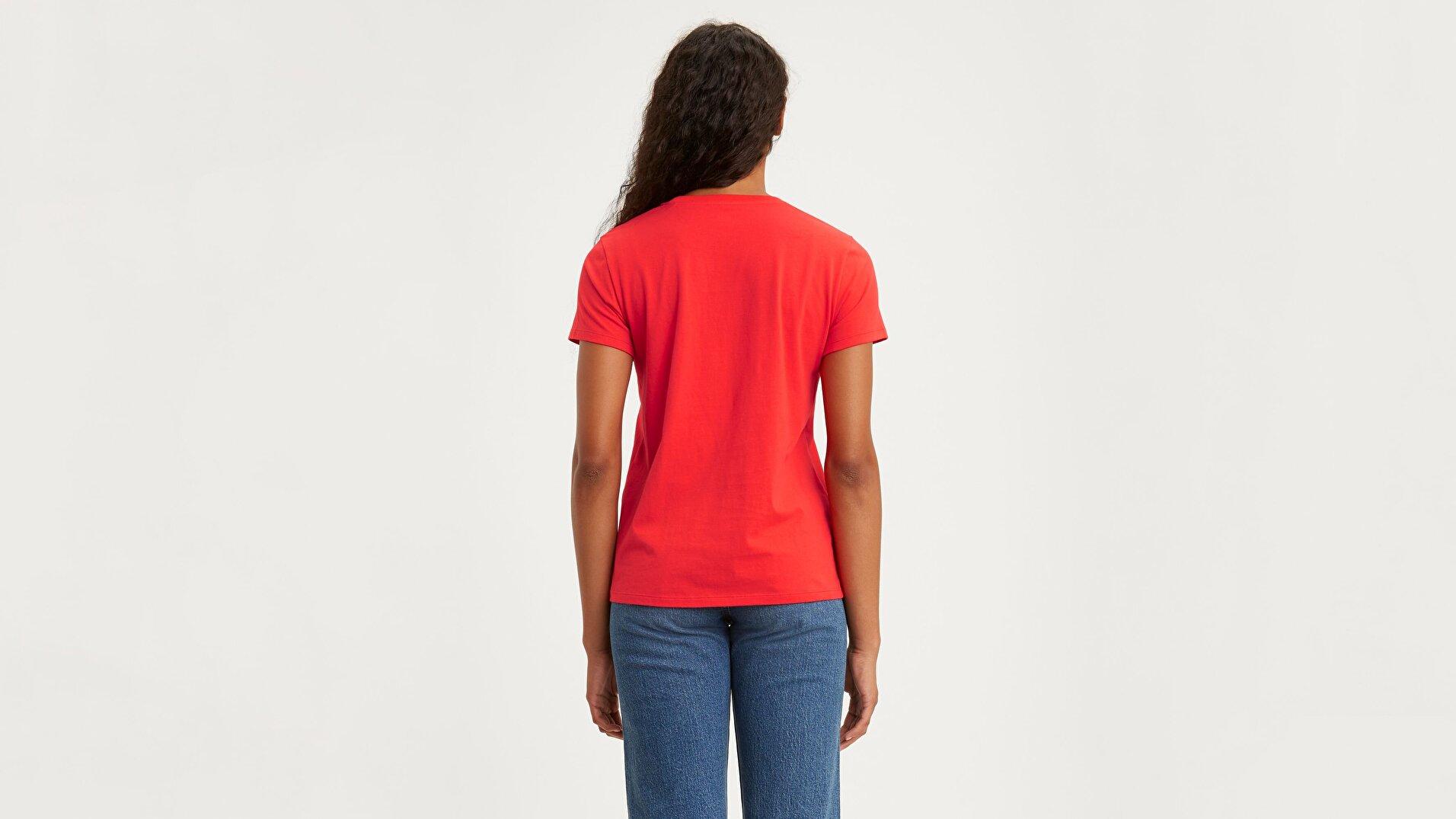 The Perfect Tee Bw T2 Kırmızı Kadın Tişört