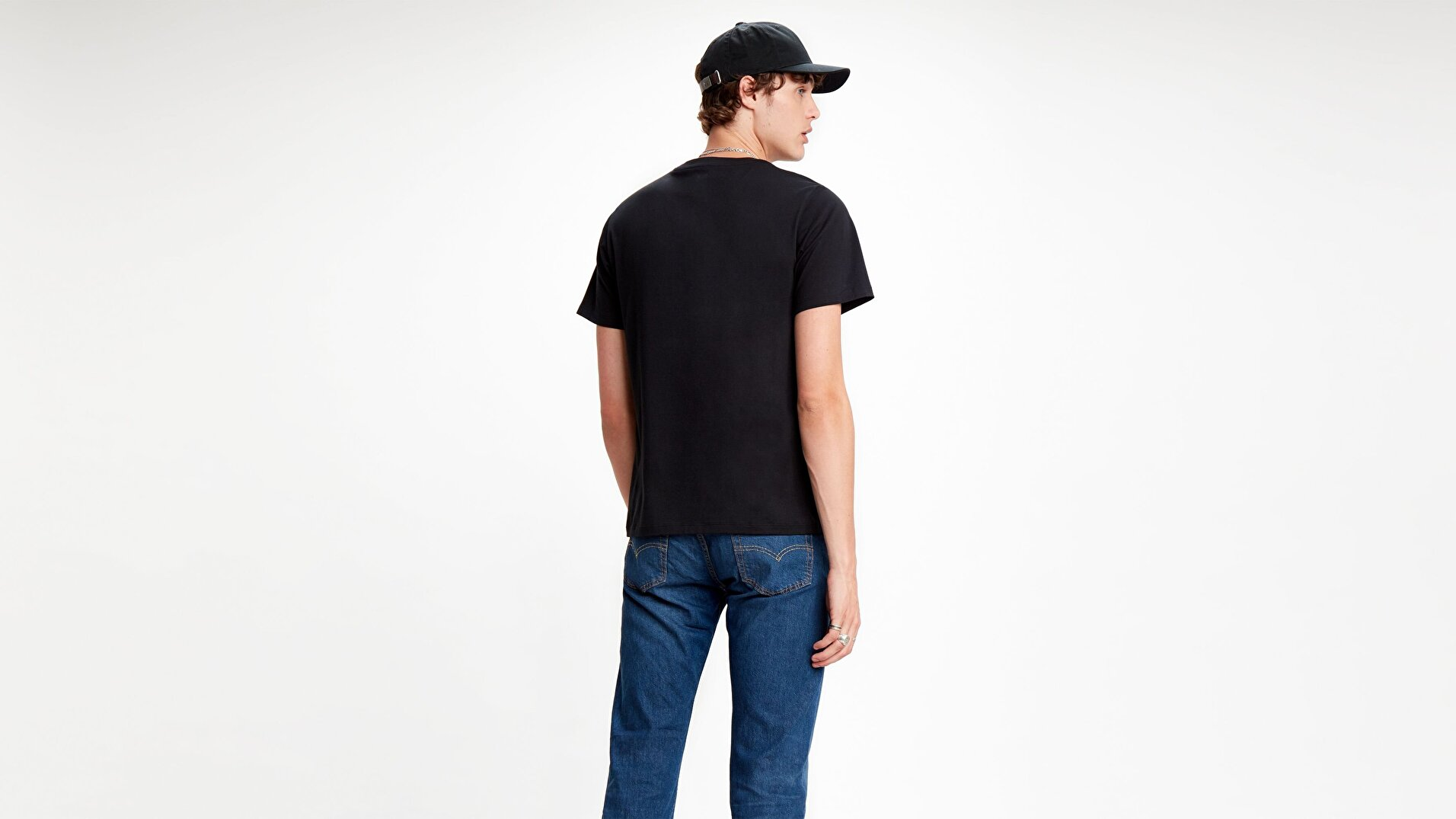 Sportswear Logo Graphic Ssnl Sw Siyah Erkek Tişört