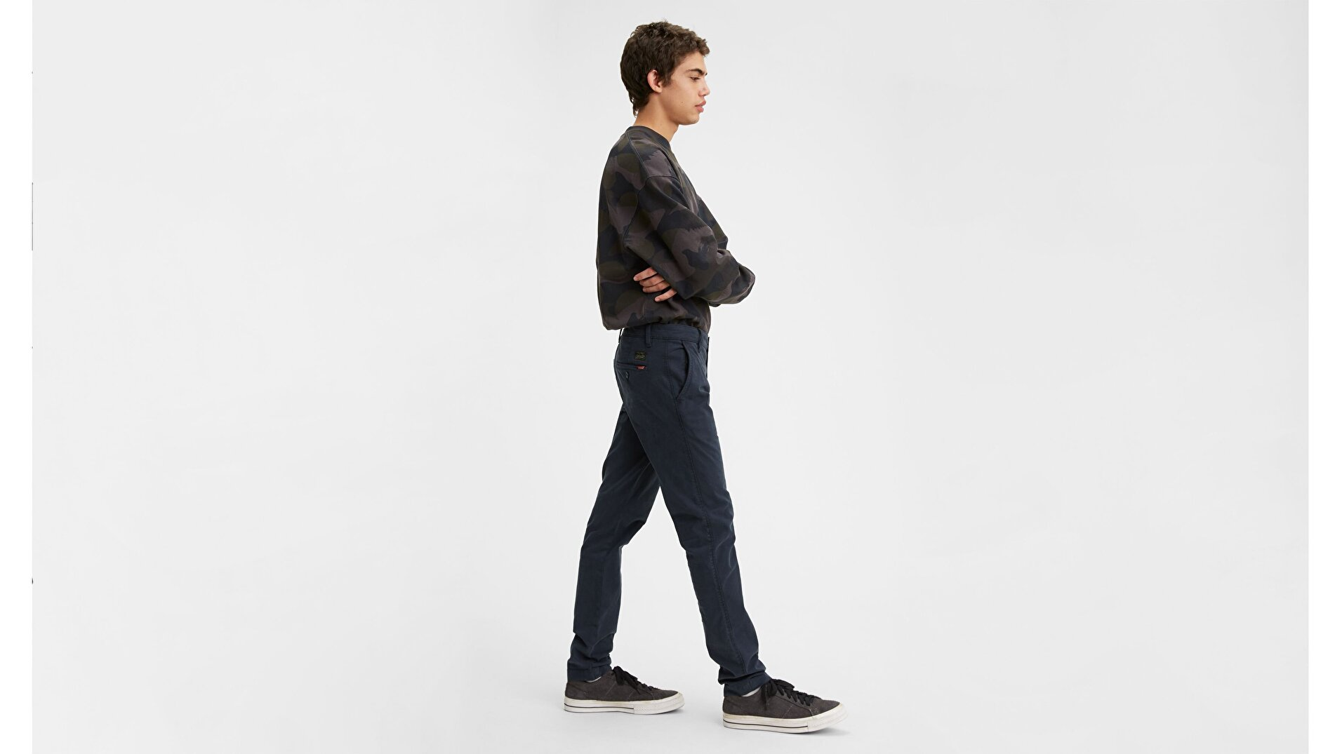 XX Chino Slim Fit Erkek Pantolon-Baltic Shady