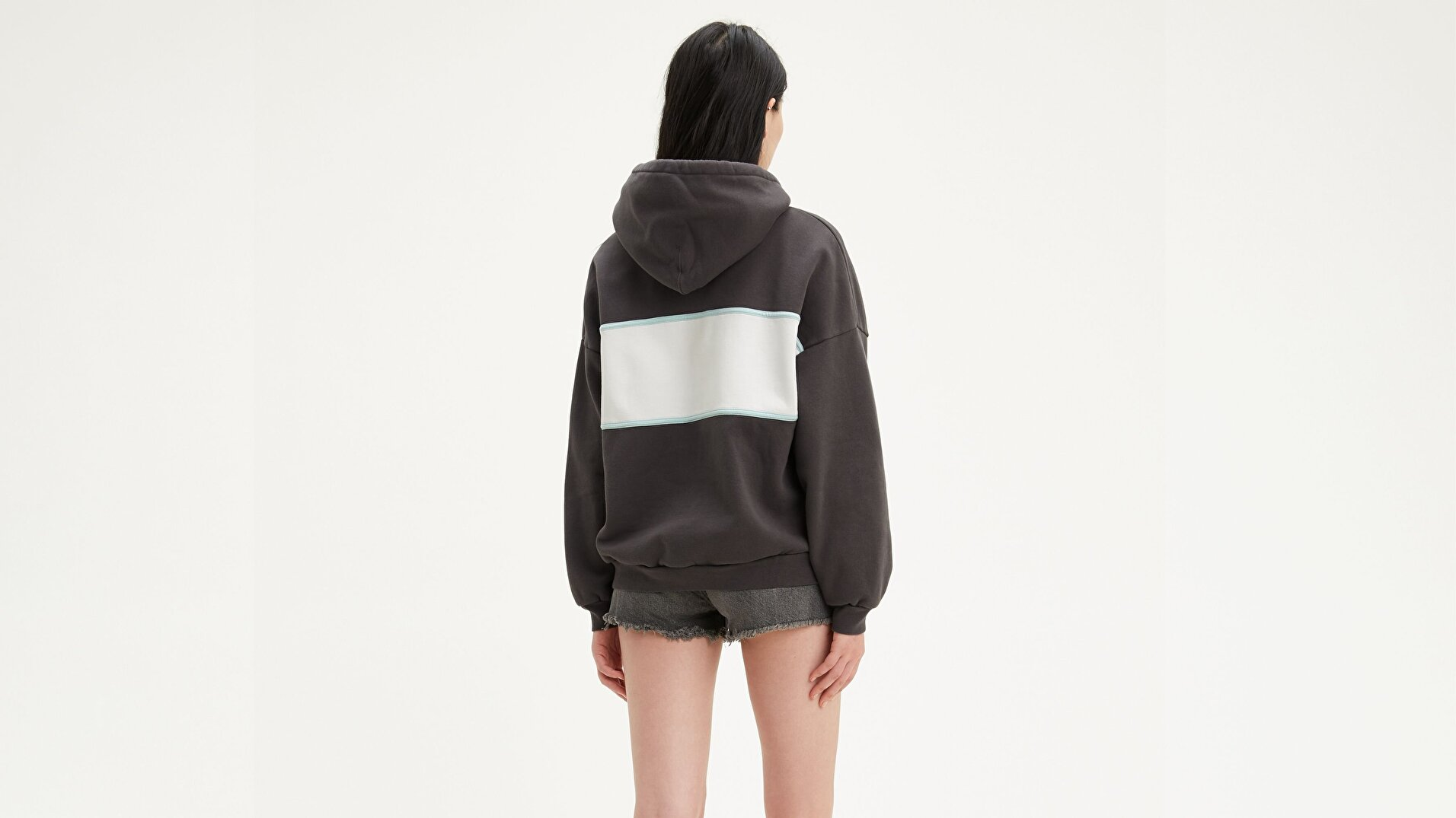 Cameron Hoodie Levi Chest Çok renkli Kadın Kapüşonlu Sweatshirt