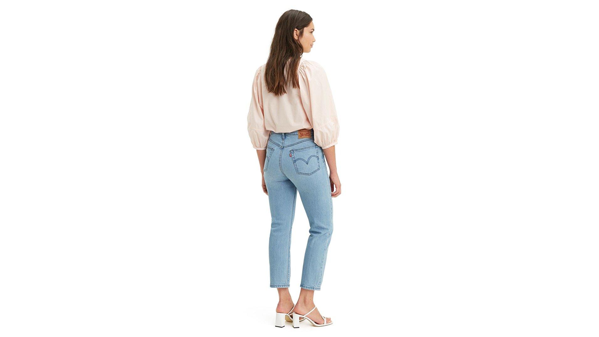 501 Kadın Crop Jean Pantolon - Tango Acid