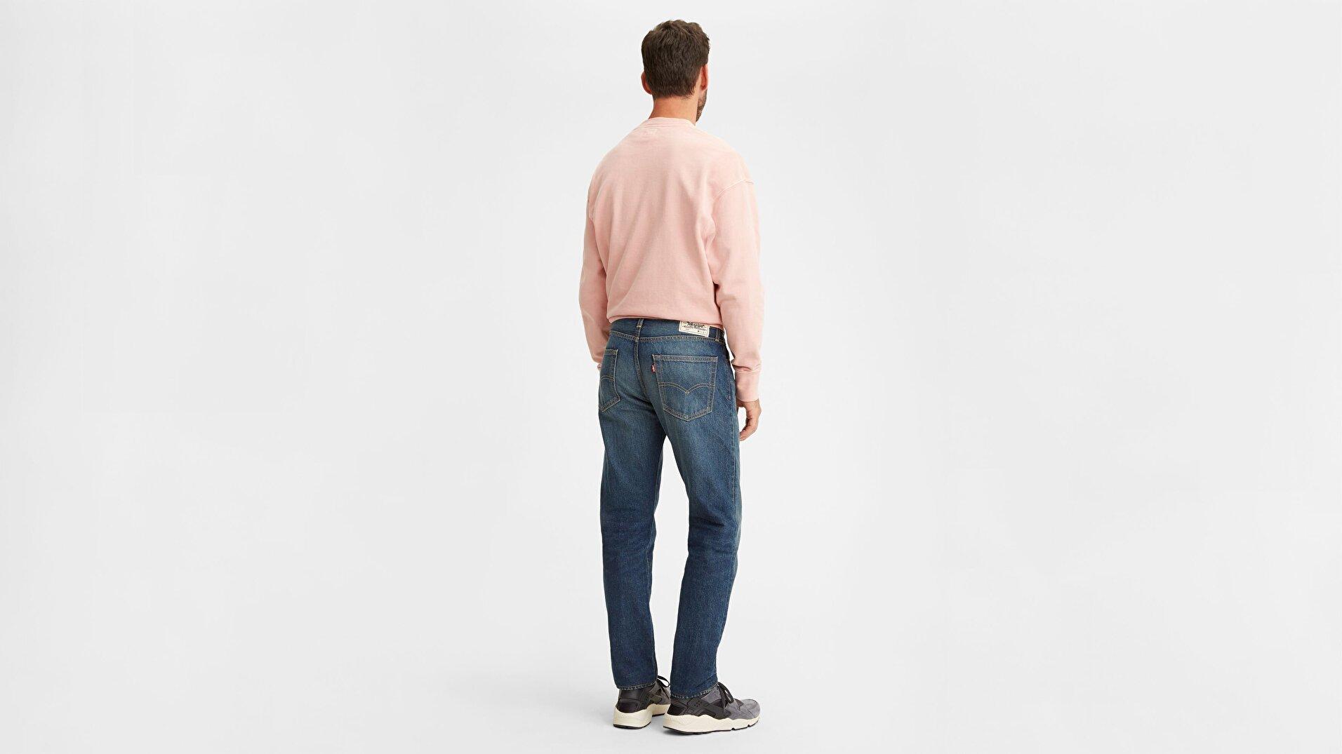 502 Wellthread Erkek Jean Pantolon-High Tide  Hemp
