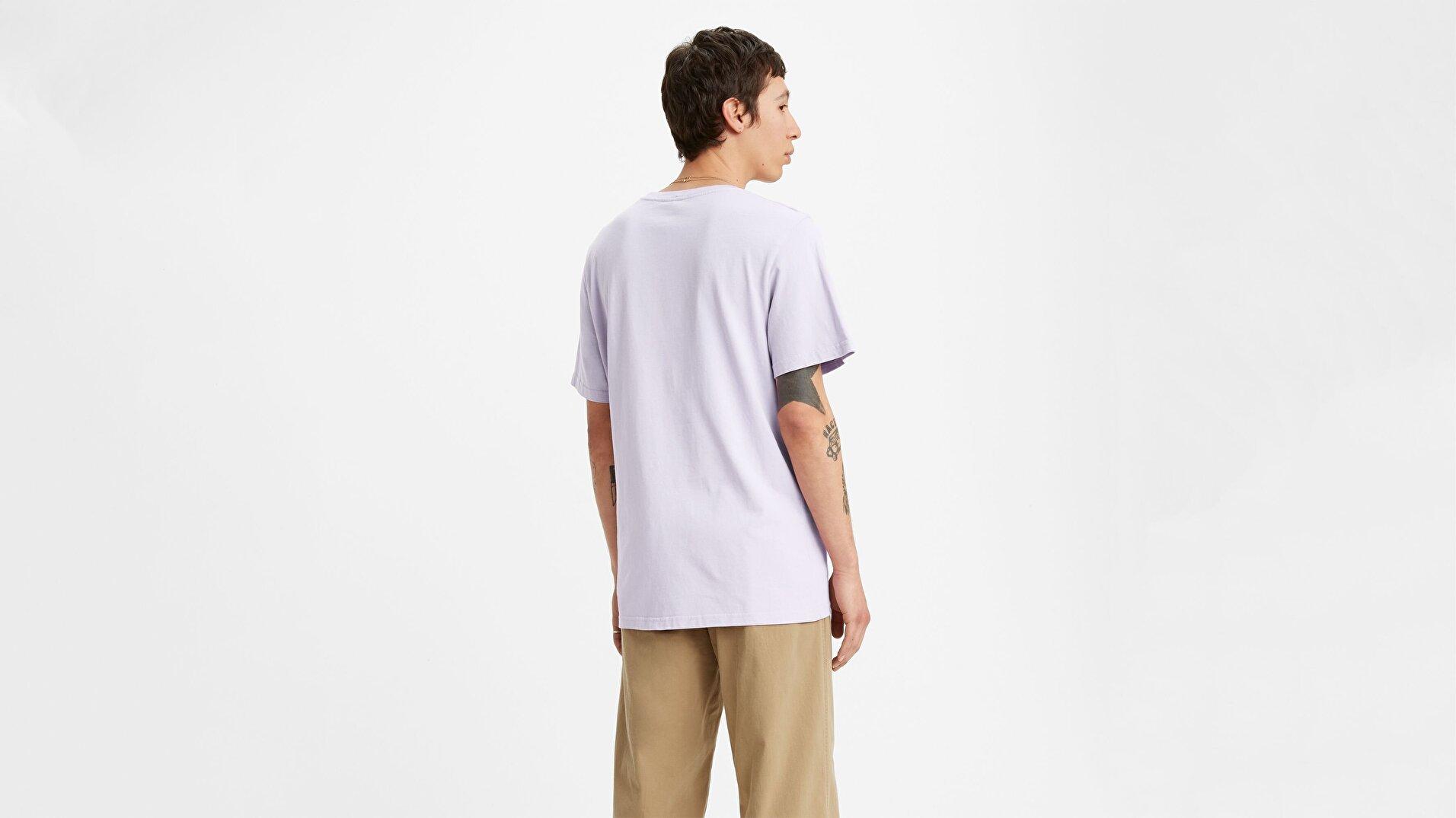 Ss Relaxed Fit Tee Ssnl Filled Boxtab Beyaz Erkek Tişört