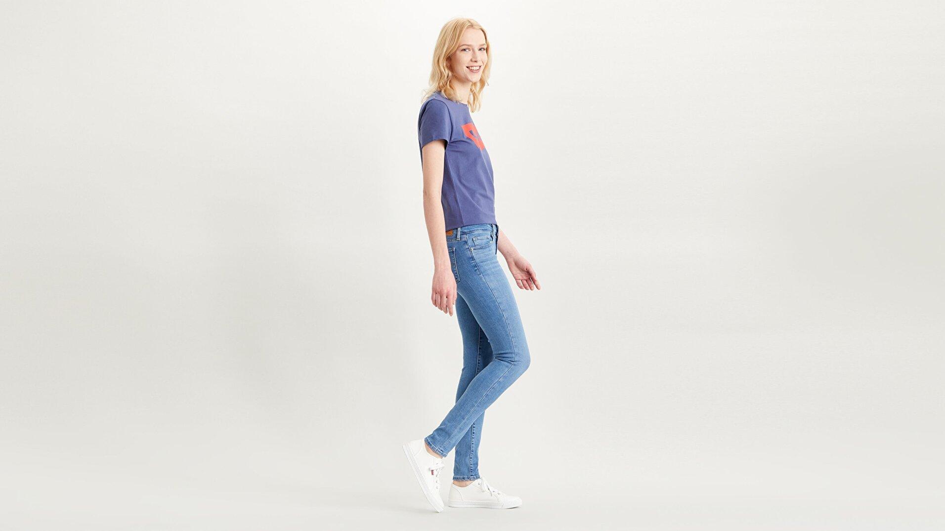 711 Skinny Fit Kadın Jean Pantolon-Rio In Limbo