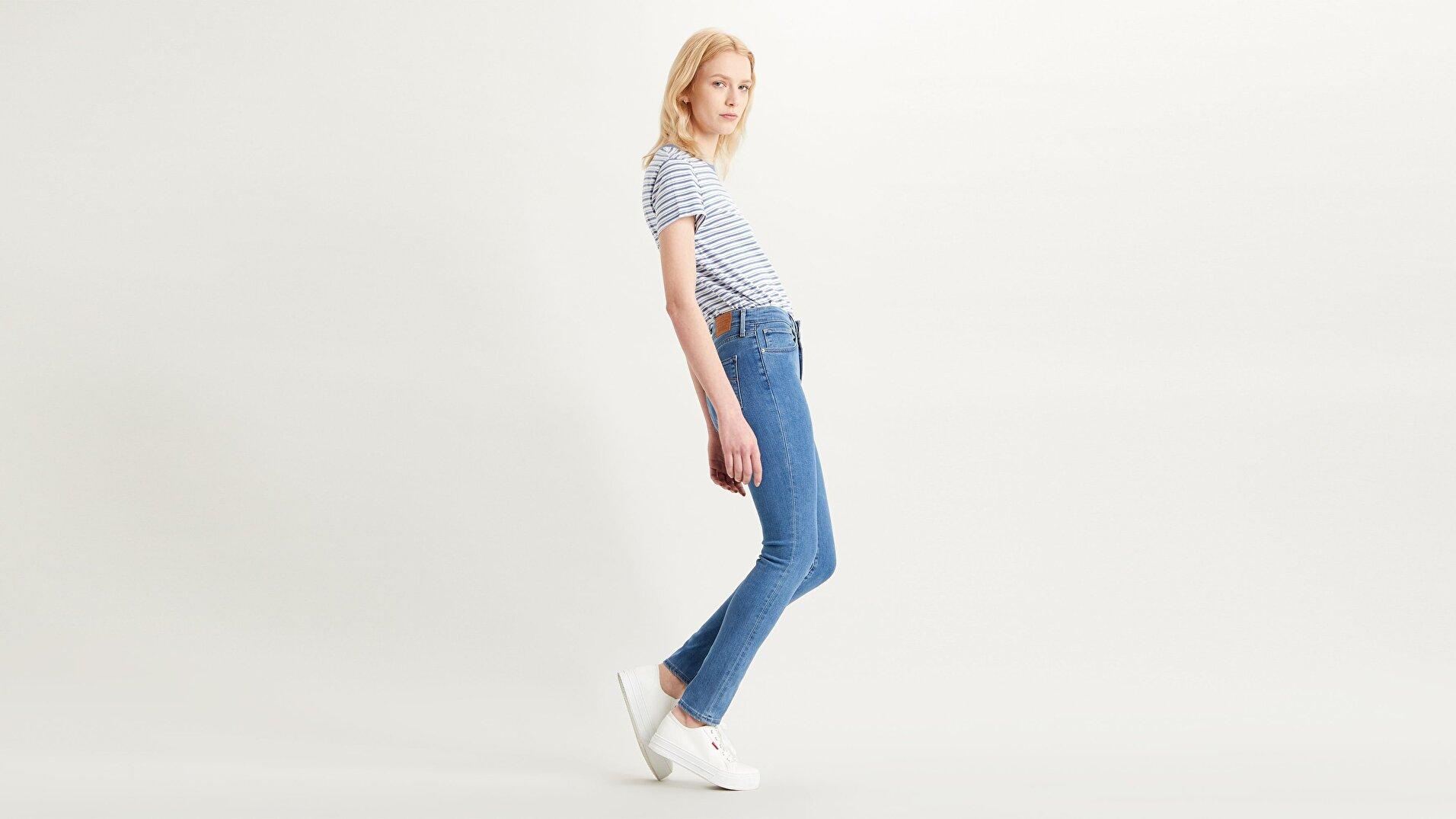 721 Yüksel Bel Skinny Fit Kadın Jean Pantolon-Bogota Limbo