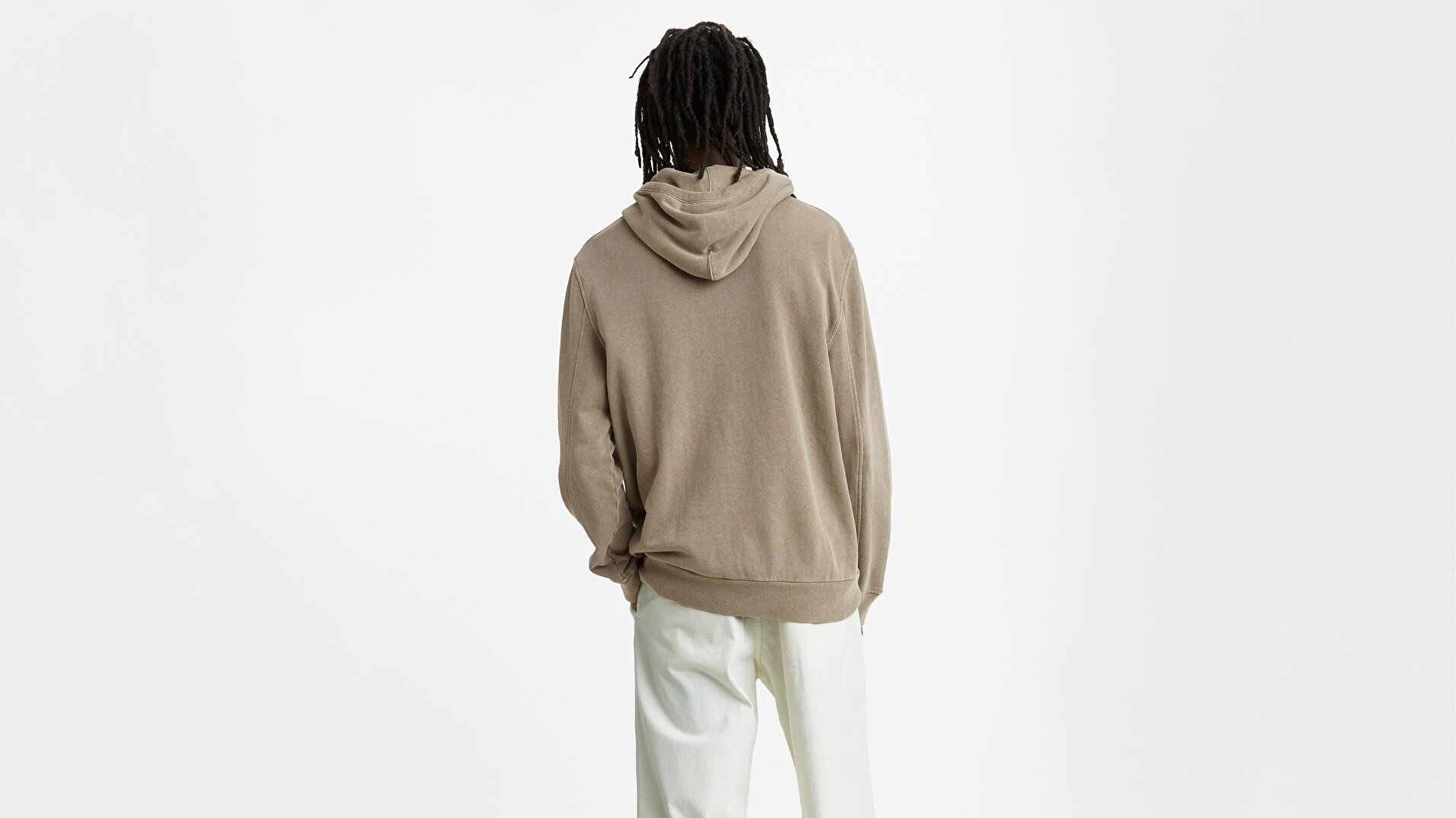 Wellthread Hoodie Clay Cotton Siyah Erkek Kapüşonlu Sweatshirt