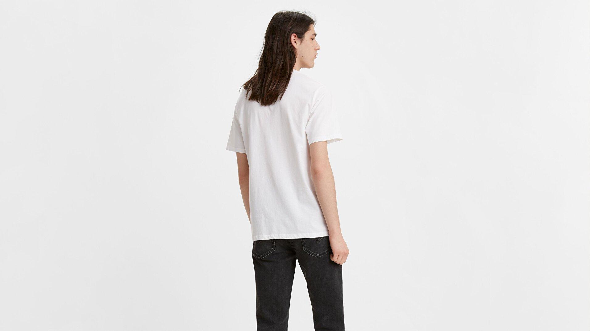 Housemark Graphic Tee Ssnl Hm Beyaz Erkek Tişört