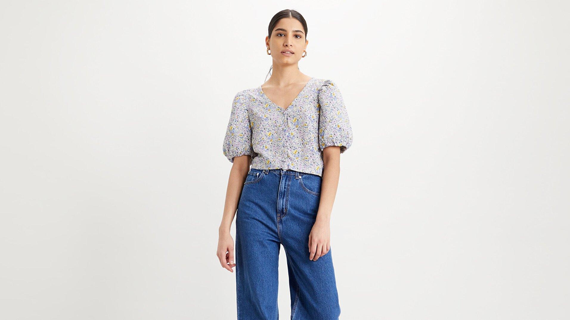 Holly Blouse Monrovia Floral Çok renkli Kadın Bluz
