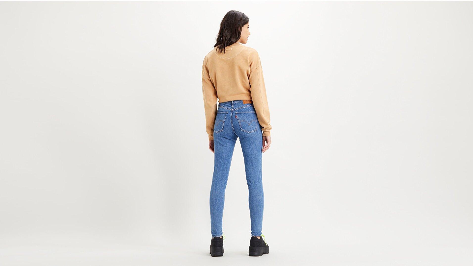 Mile High Super Skinny Kadın Jean Pantolon-Galaxy Stoned
