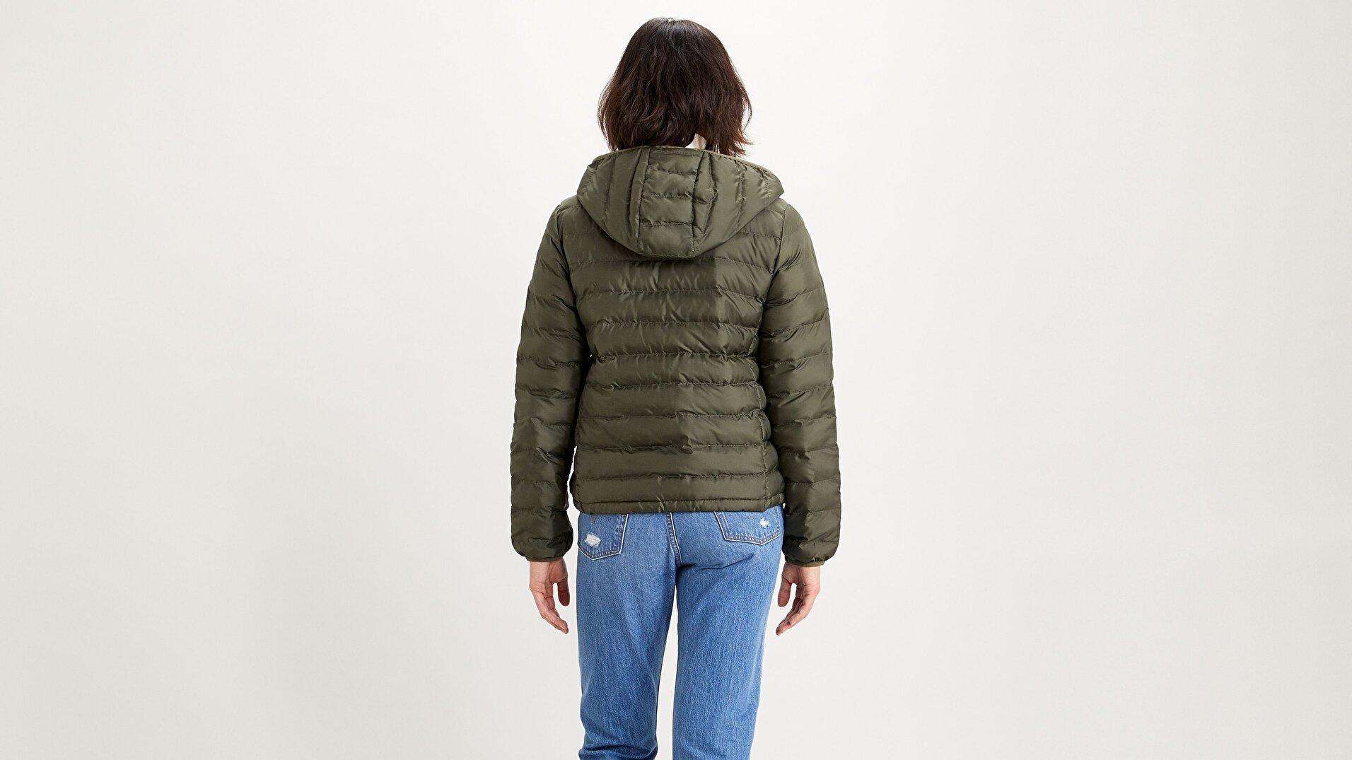 Pandora Packable Kadın Yeşil Ceket