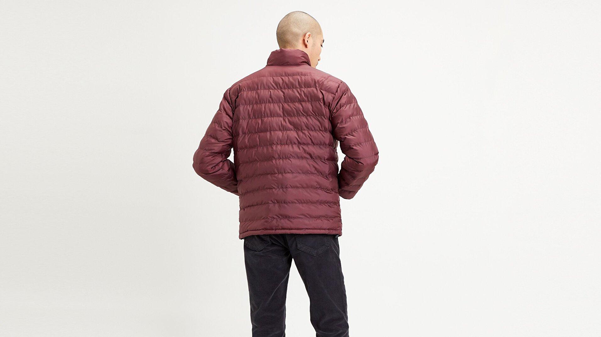 Presidio Packable Jacket Sassafras Kırmızı Erkek Ceket