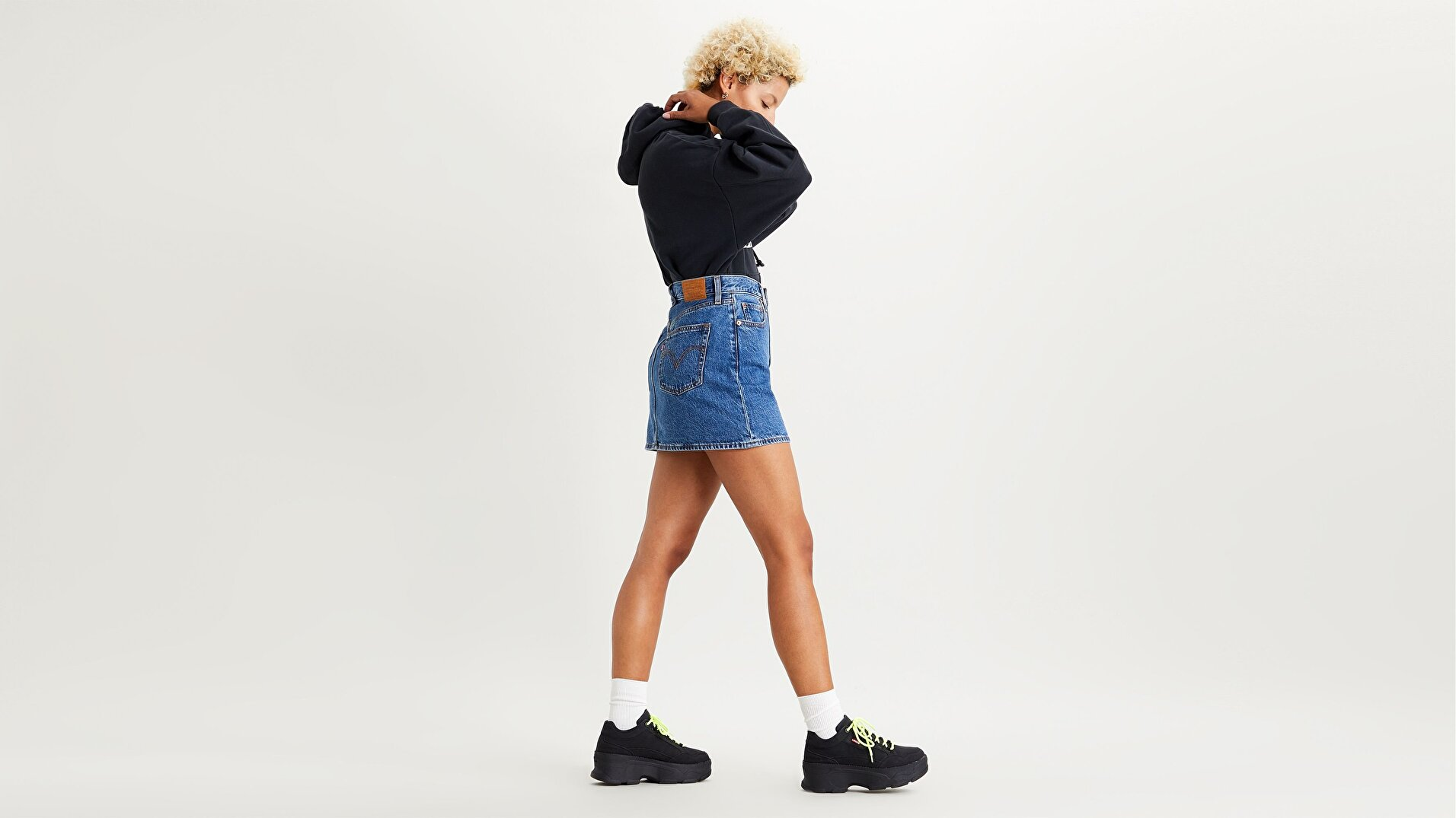 Ribcage Kadın Etek-Now And Then Skirt