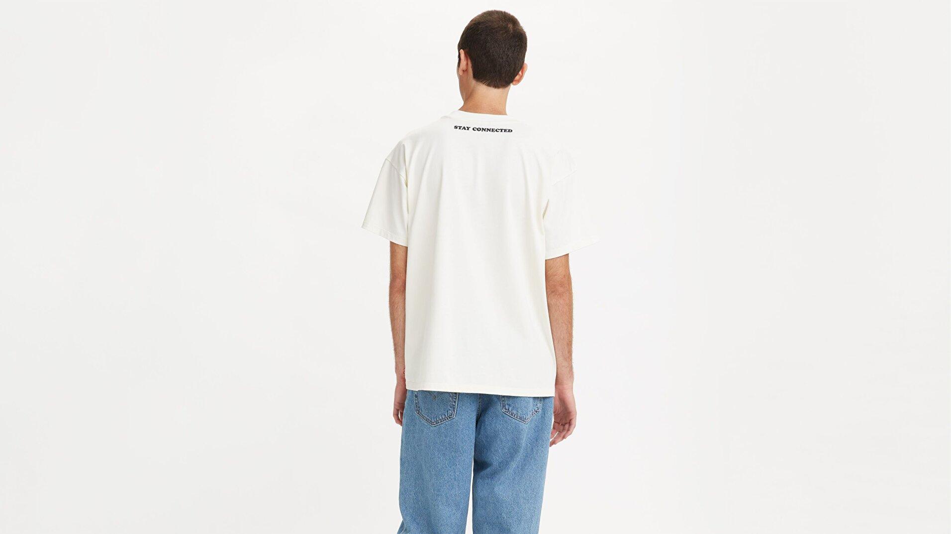 Levi's® X Disney Tee Erkek Beyaz Tişört