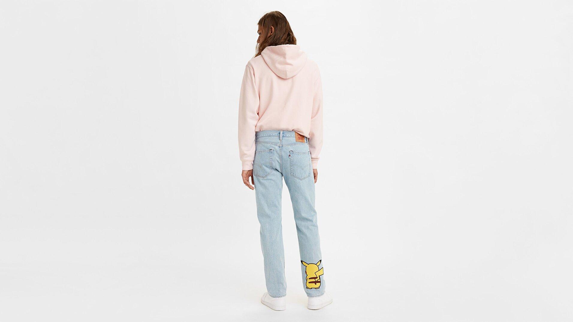 Levis x Pokemon 551Z Straight Jean Pantolon