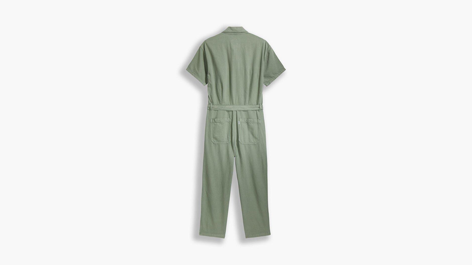 Surplus Jumpsuit Soft Surplus Sea Yeşil  Kadın Elbise
